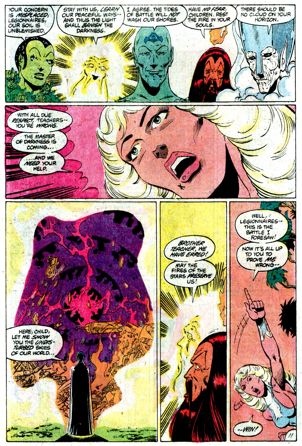 Legion of Super-Heroes (1980) 292 Page 11
