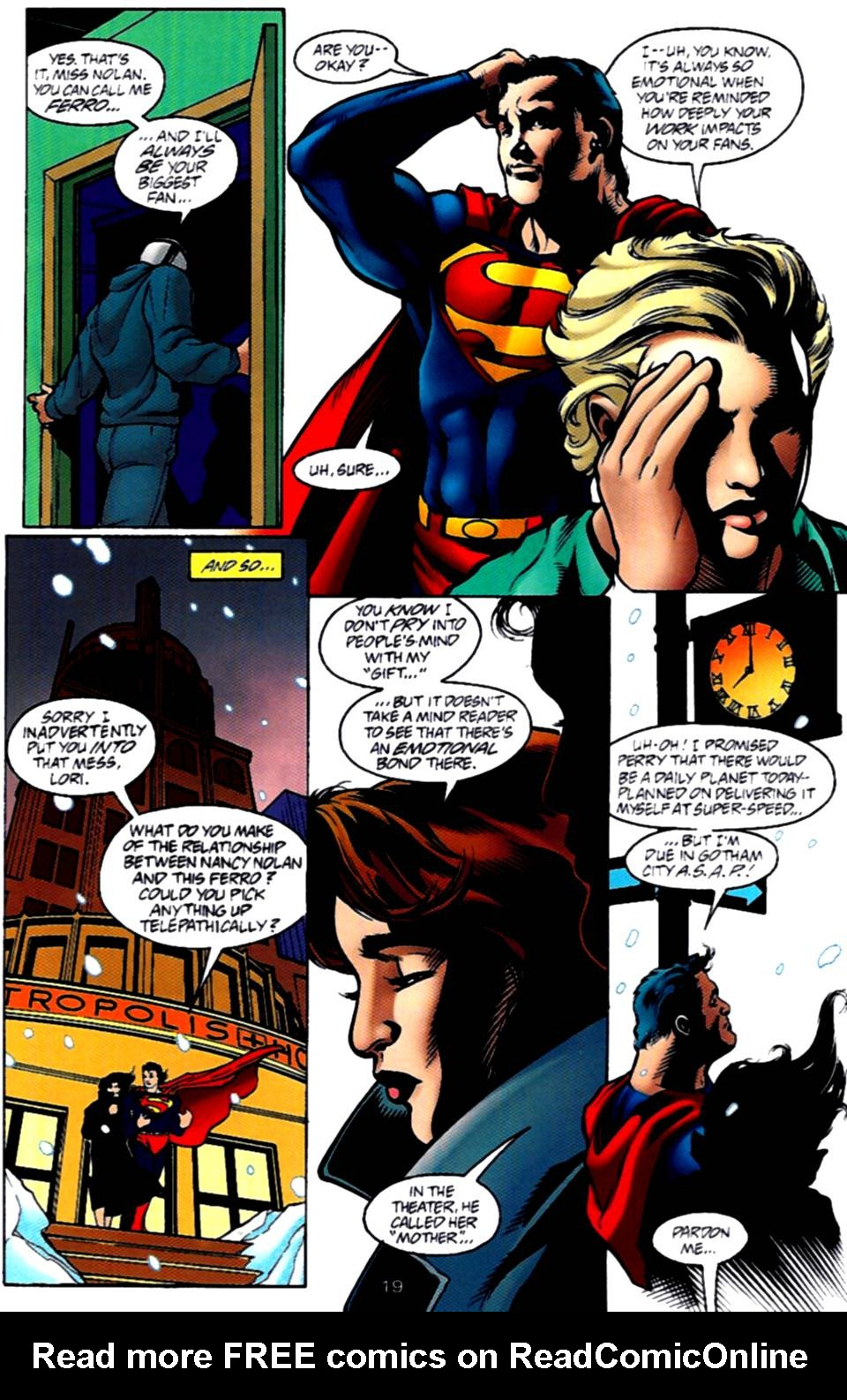 Read online Adventures of Superman (1987) comic -  Issue #540 - 20