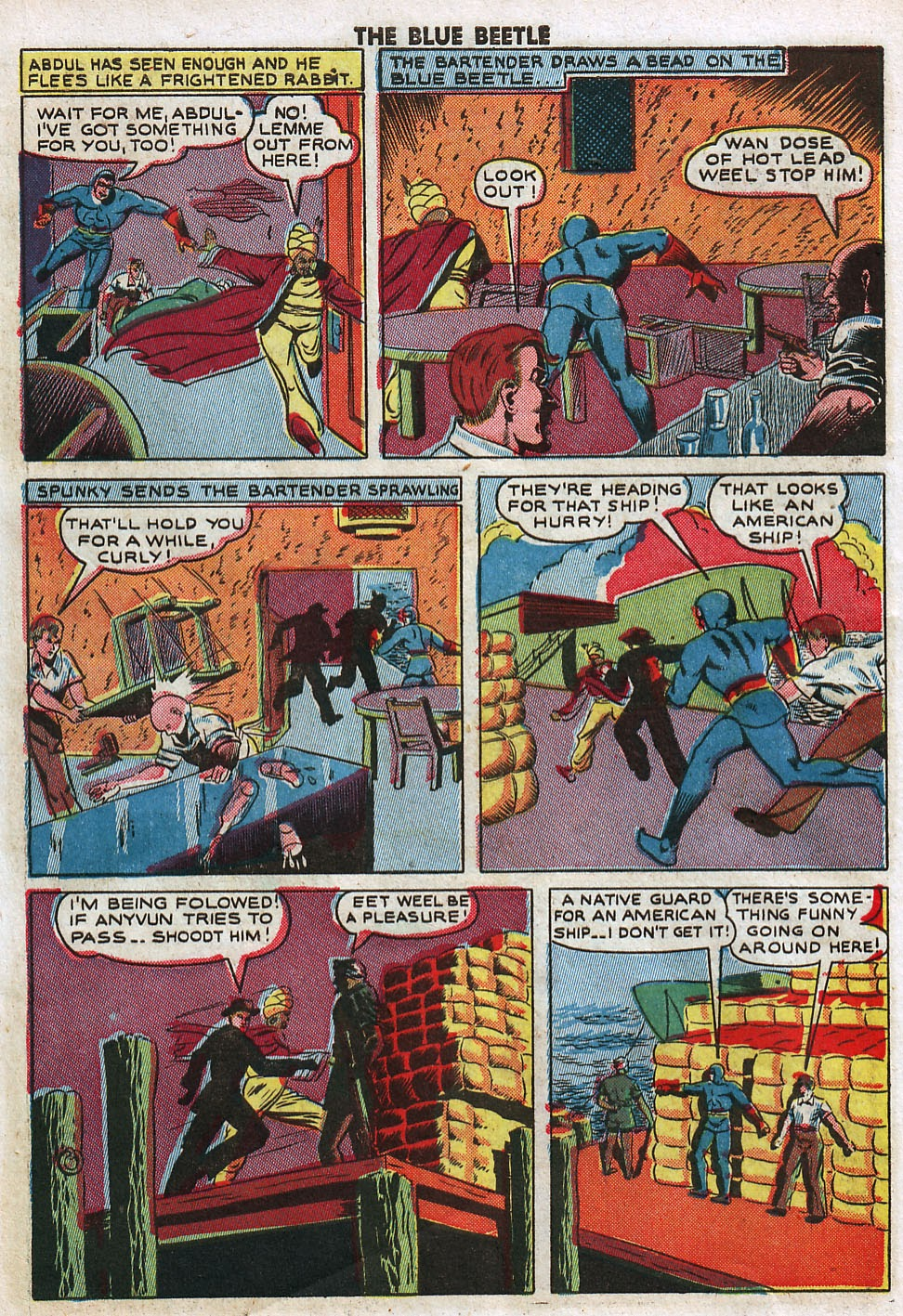 The Blue Beetle issue 33 - Page 8