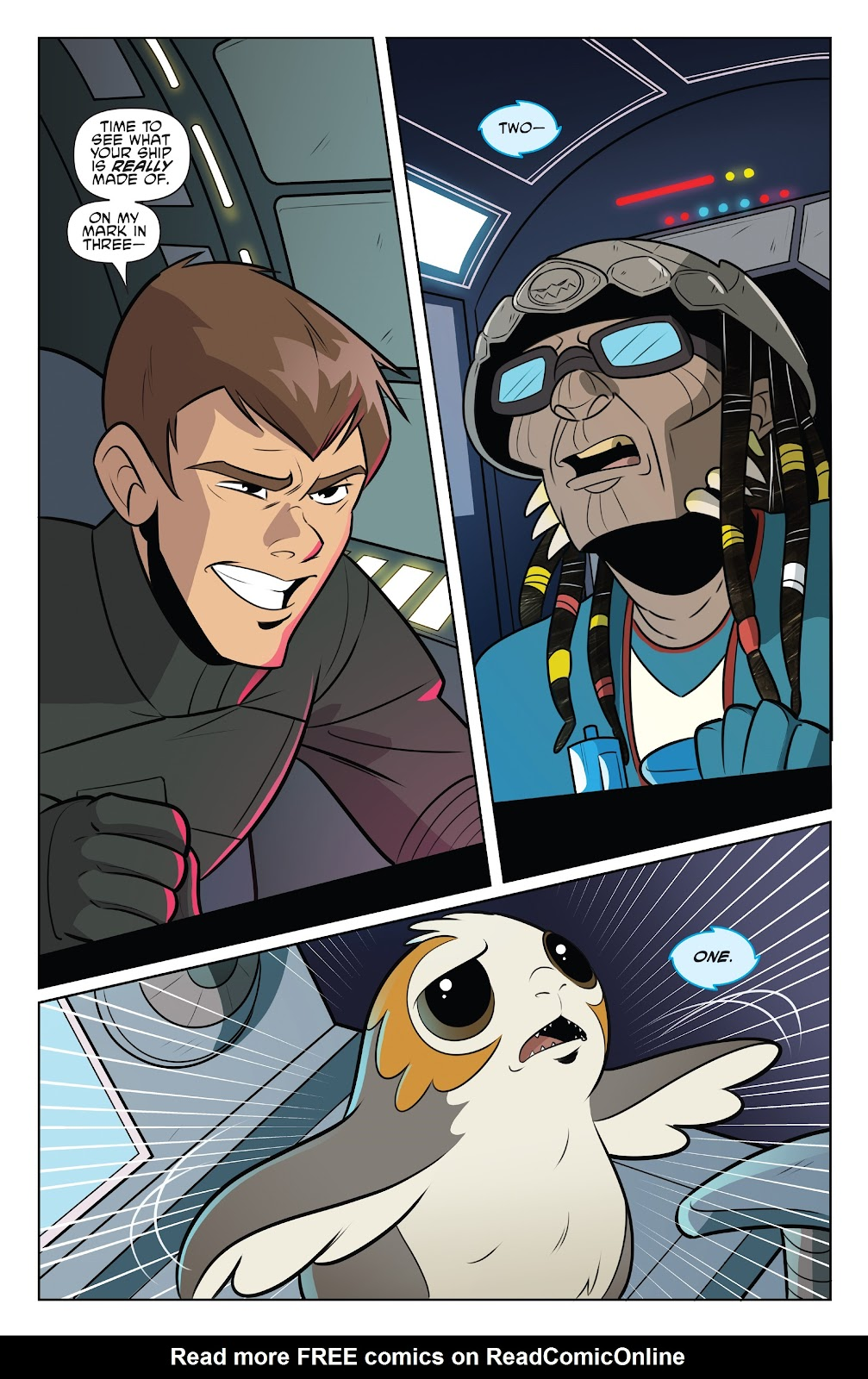Read online Star Wars Adventures: Flight of the Falcon comic -  Issue # Full - 11