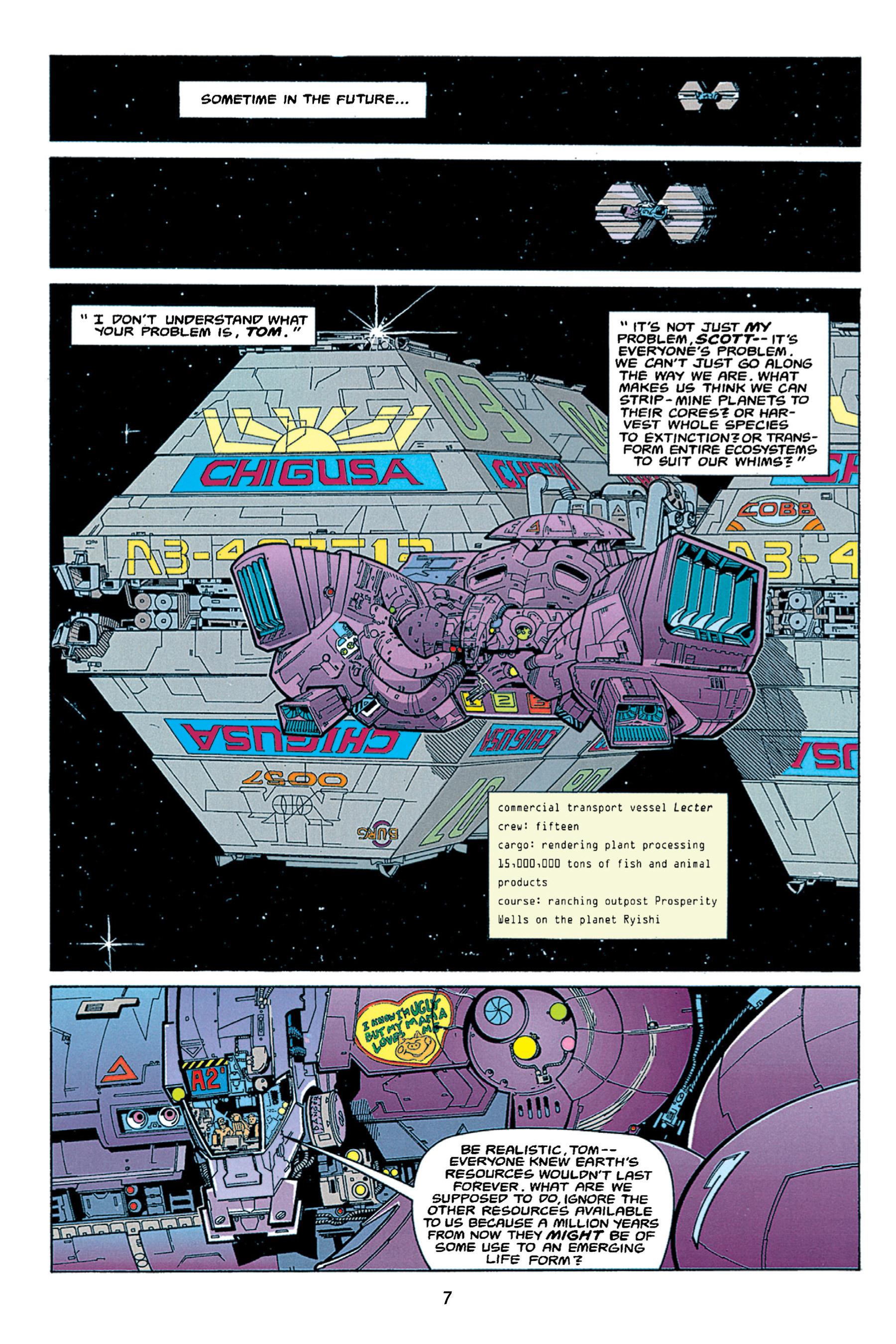 Read online Aliens vs. Predator Omnibus comic -  Issue # _TPB 1 Part 1 - 7