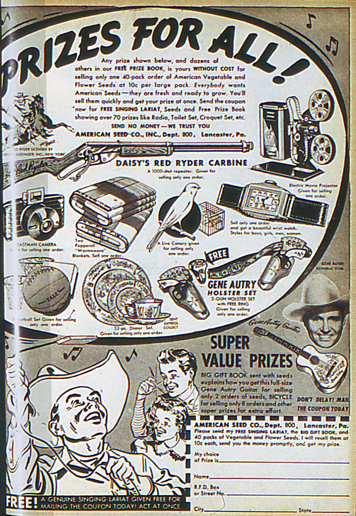 Read online Adventure Comics (1938) comic -  Issue #61 - 68