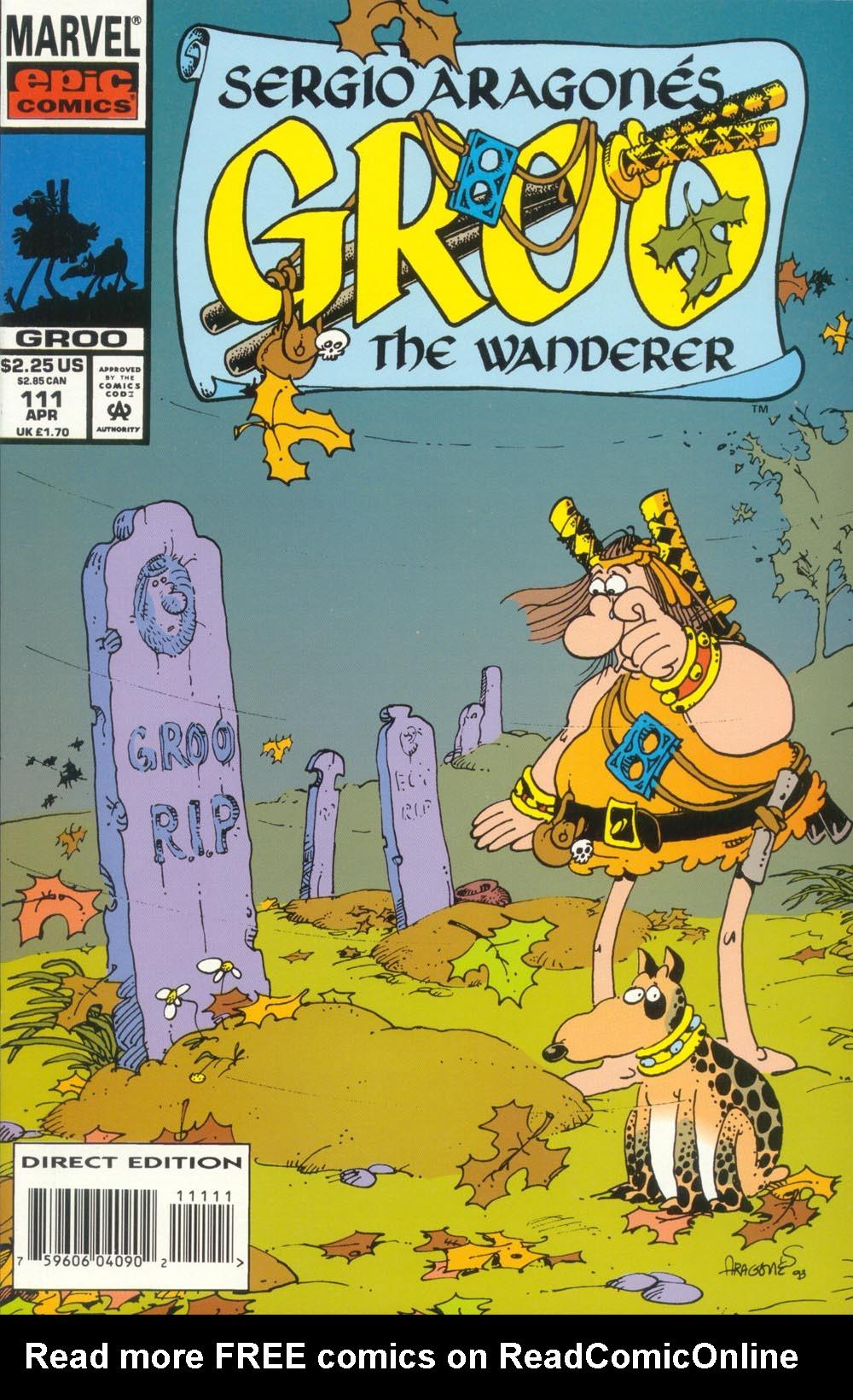 Read online Sergio Aragonés Groo the Wanderer comic -  Issue #111 - 1