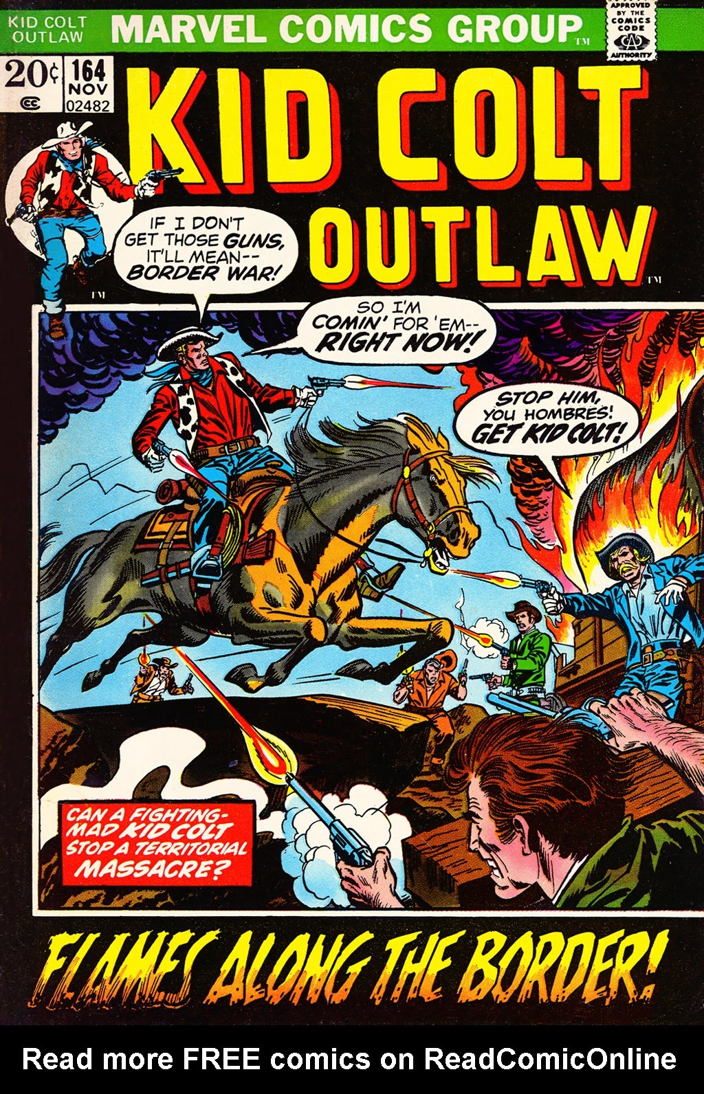 Kid Colt Outlaw issue 164 - Page 1