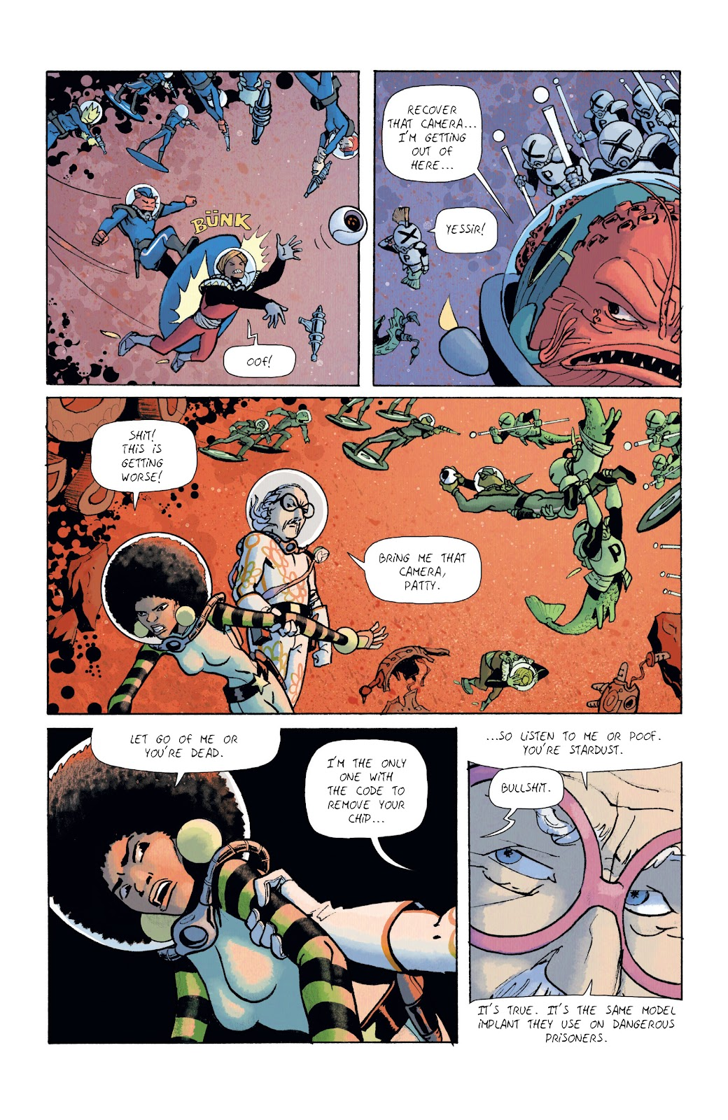 Read online Infinity 8 comic -  Issue #12 - 18