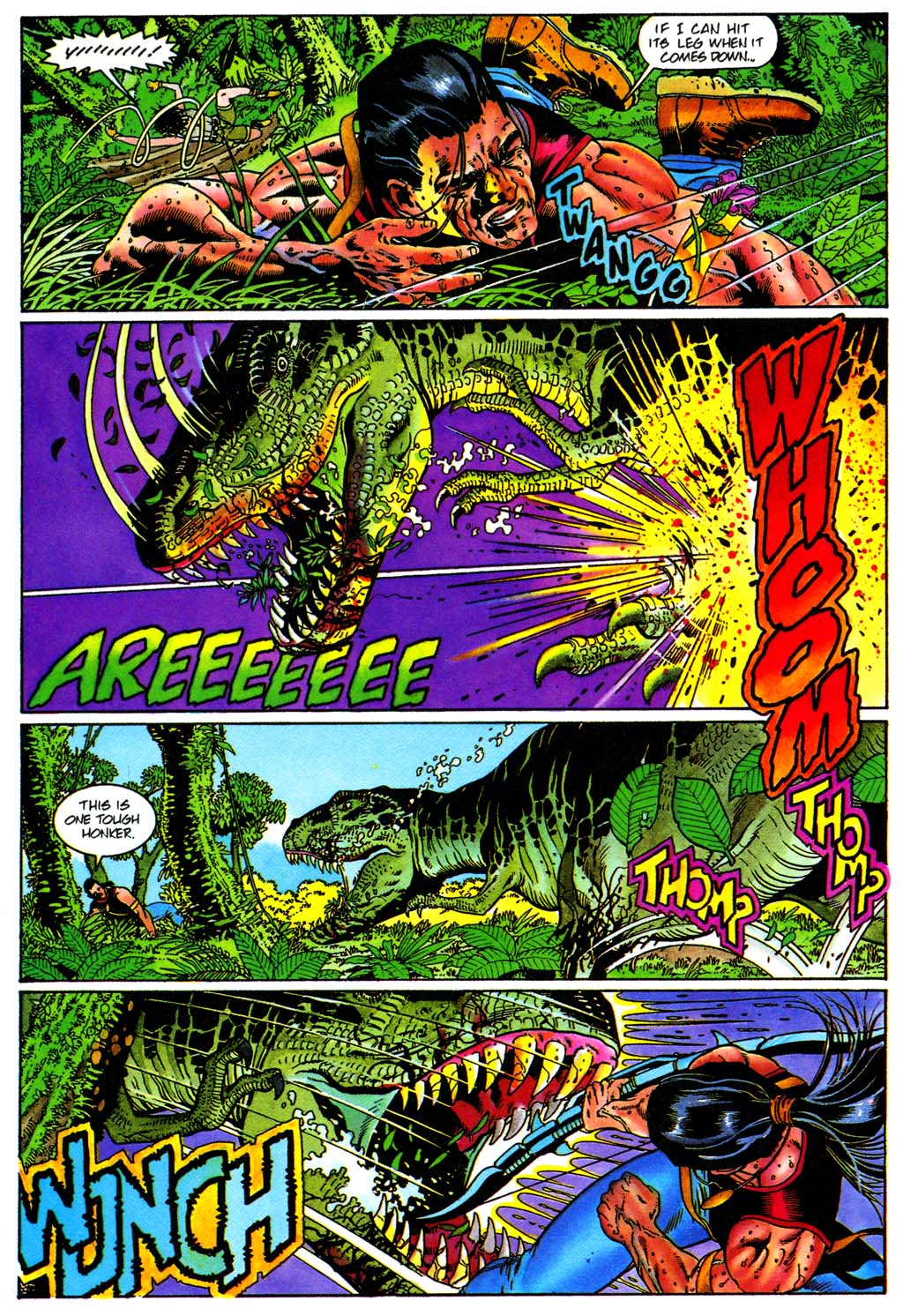 Read online Turok, Dinosaur Hunter (1993) comic -  Issue #28 - 16