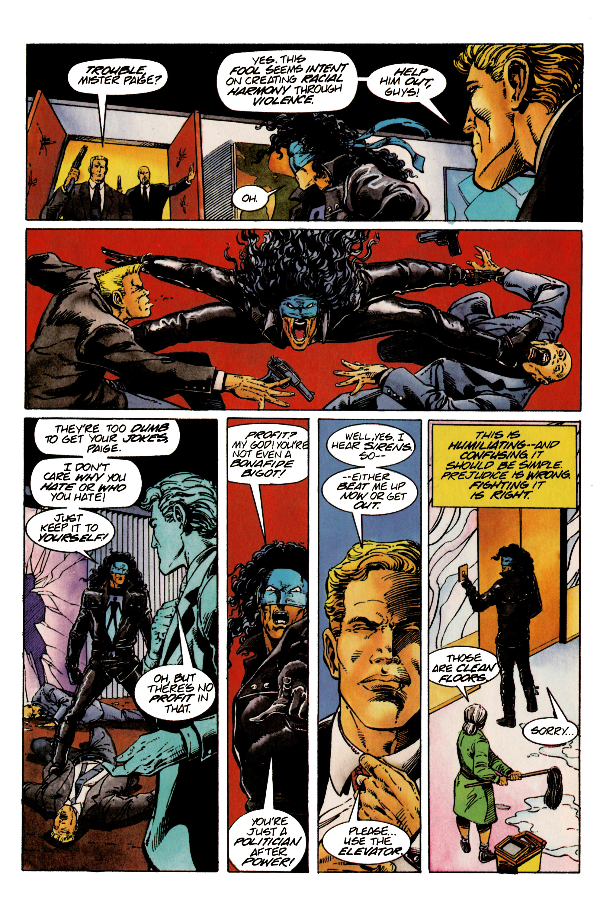 Read online Shadowman (1992) comic -  Issue #24 - 12