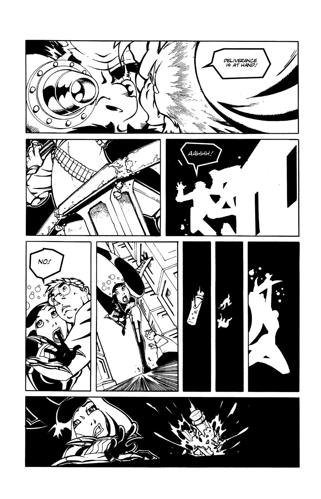 Warrior Nun Areala:  Dangerous Game Issue #3 #3 - English 15