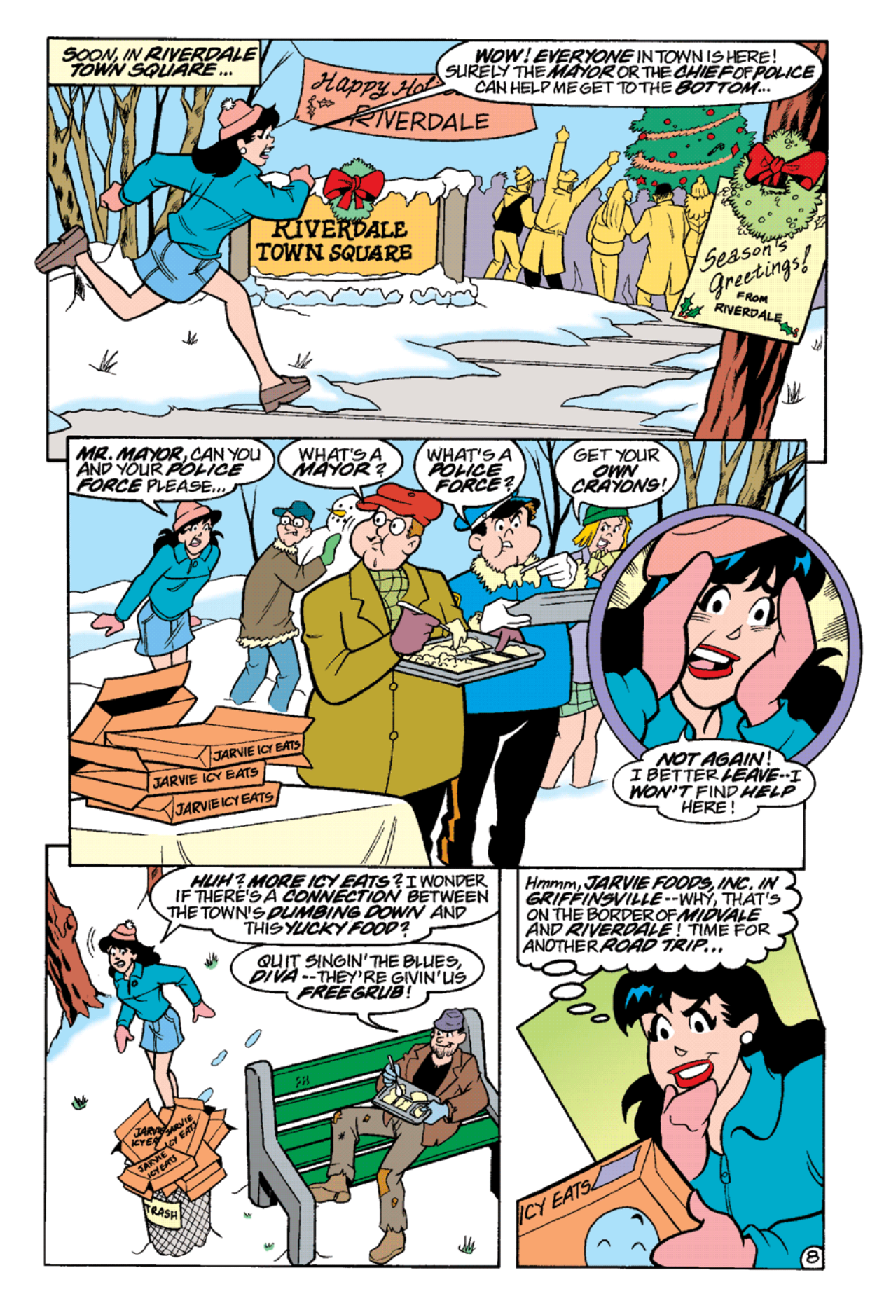 Read online Archie's Weird Mysteries comic -  Issue #18 - 10