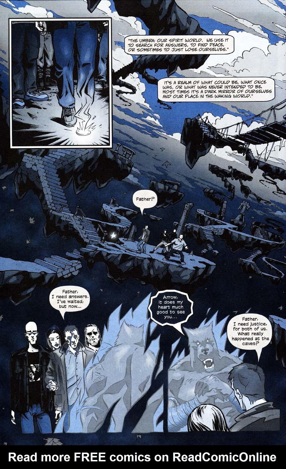 Read online Werewolf the Apocalypse comic -  Issue # Get of Fenris - 38