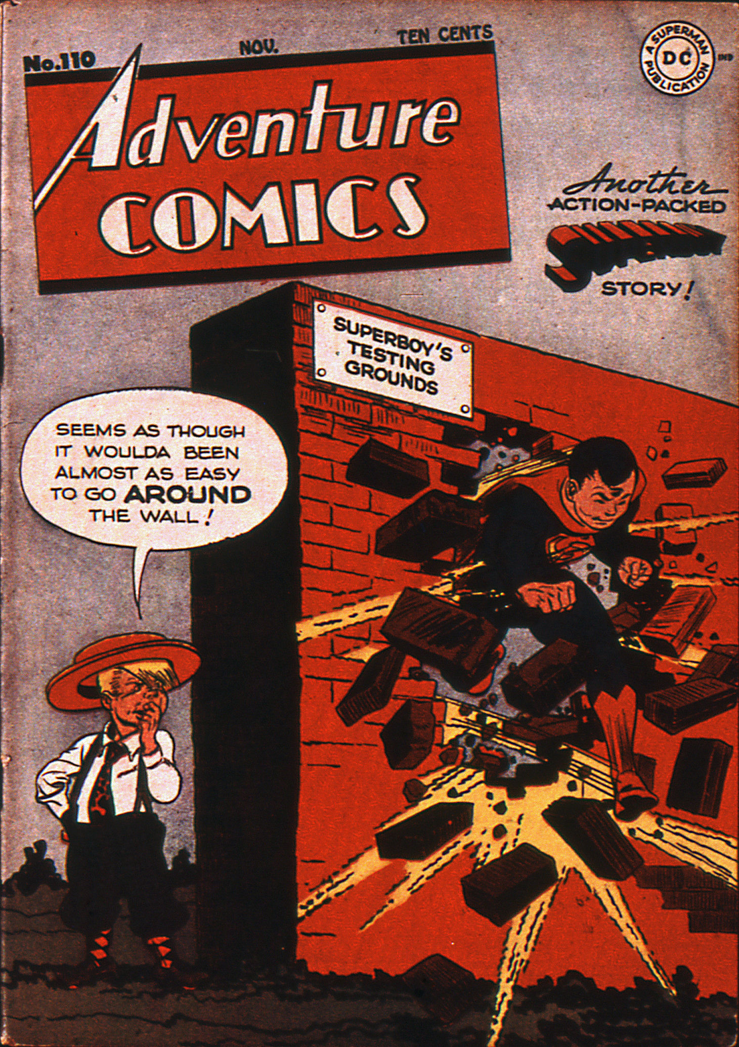 Read online Adventure Comics (1938) comic -  Issue #110 - 1