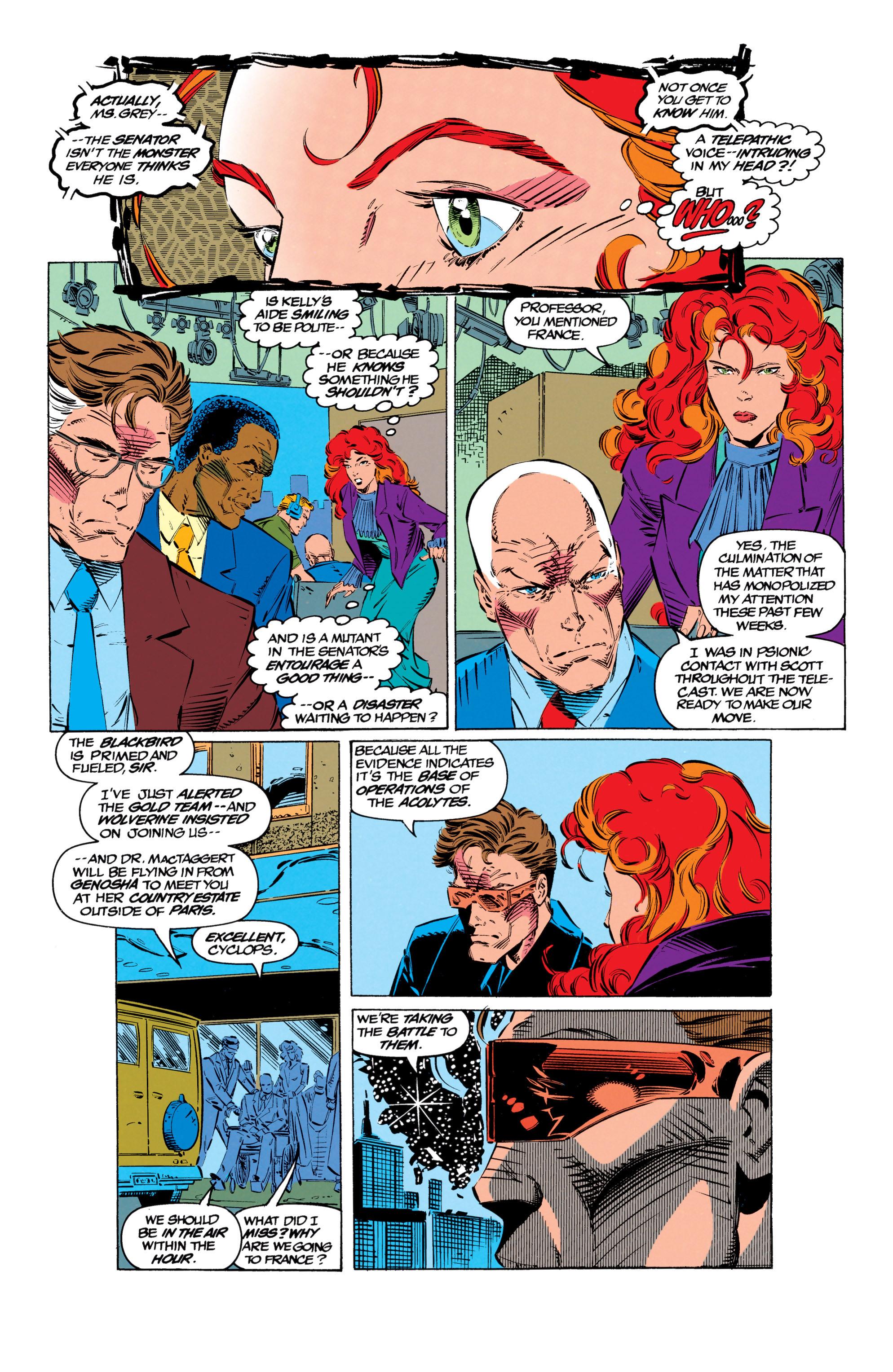 Read online Uncanny X-Men (1963) comic -  Issue #299 - 22