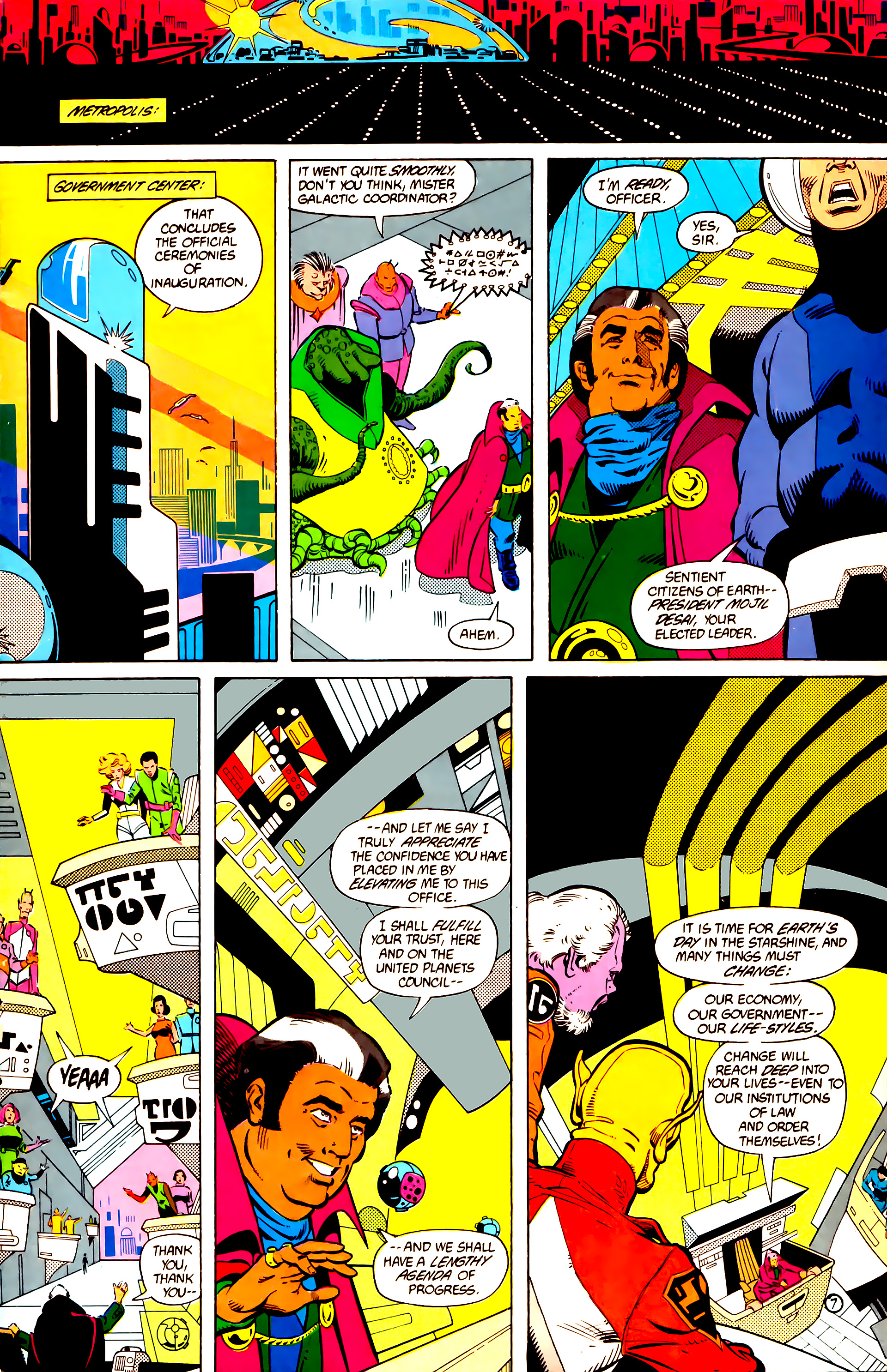 Legion of Super-Heroes (1984) 11 Page 8
