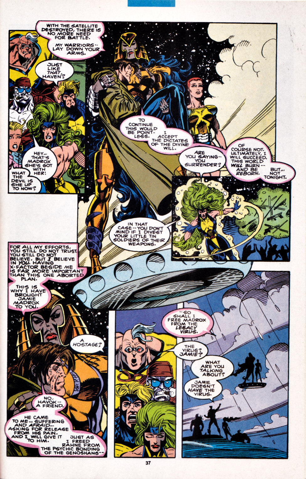 Read online X-Factor (1986) comic -  Issue #100 - 30