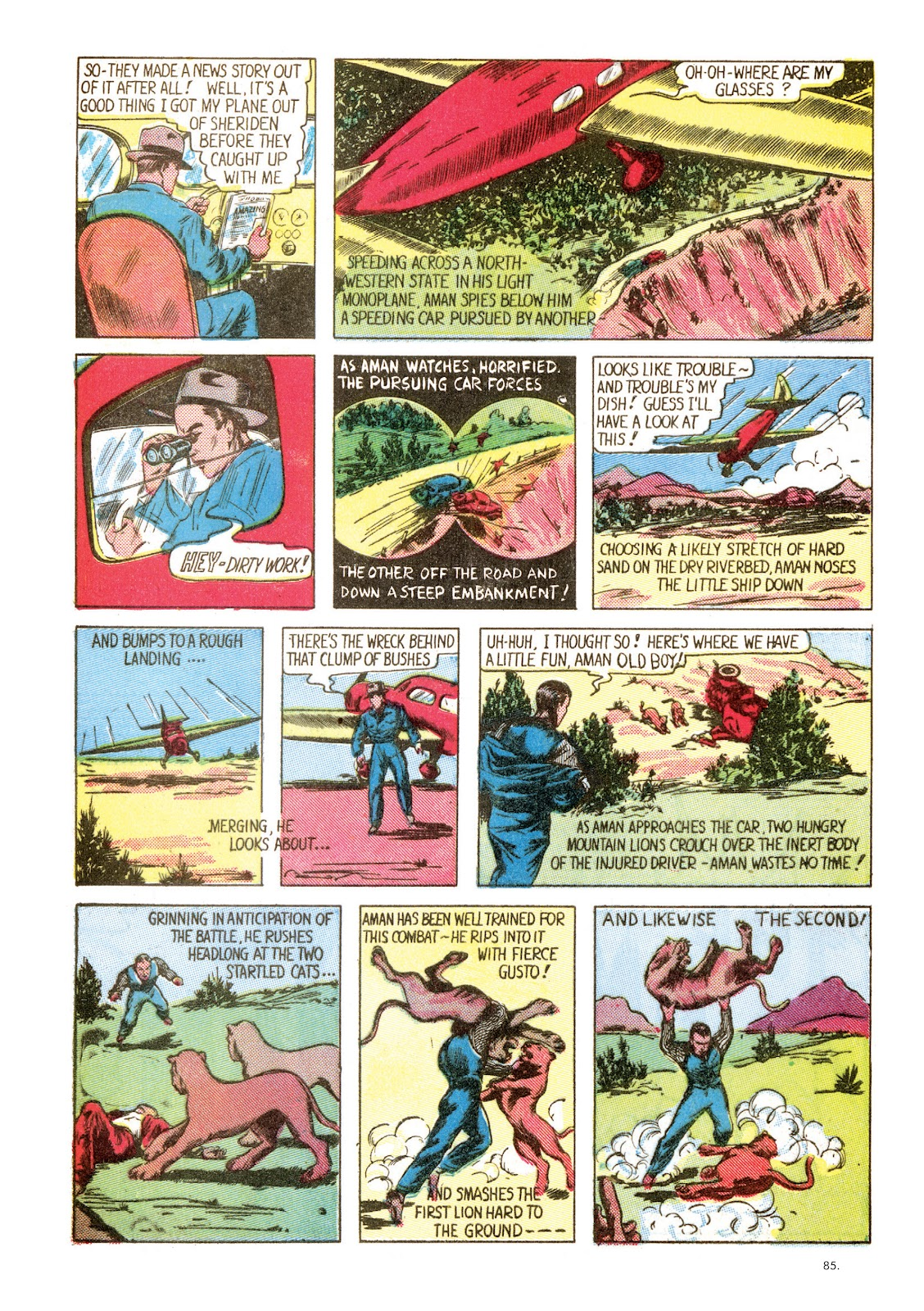 Read online The Bill Everett Archives comic -  Issue # TPB 1 (Part 1) - 85