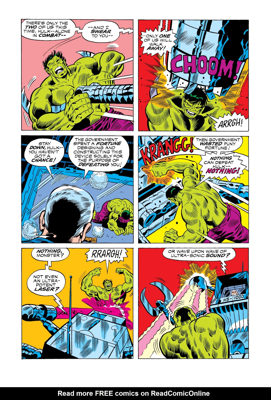 Read online Marvel Masterworks: The Incredible Hulk comic -  Issue # TPB 11 (Part 1) - 40
