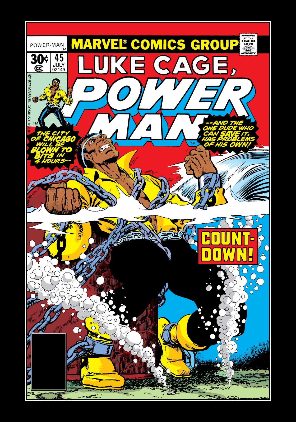 Read online Marvel Masterworks: Luke Cage, Power Man comic -  Issue # TPB 3 (Part 3) - 63