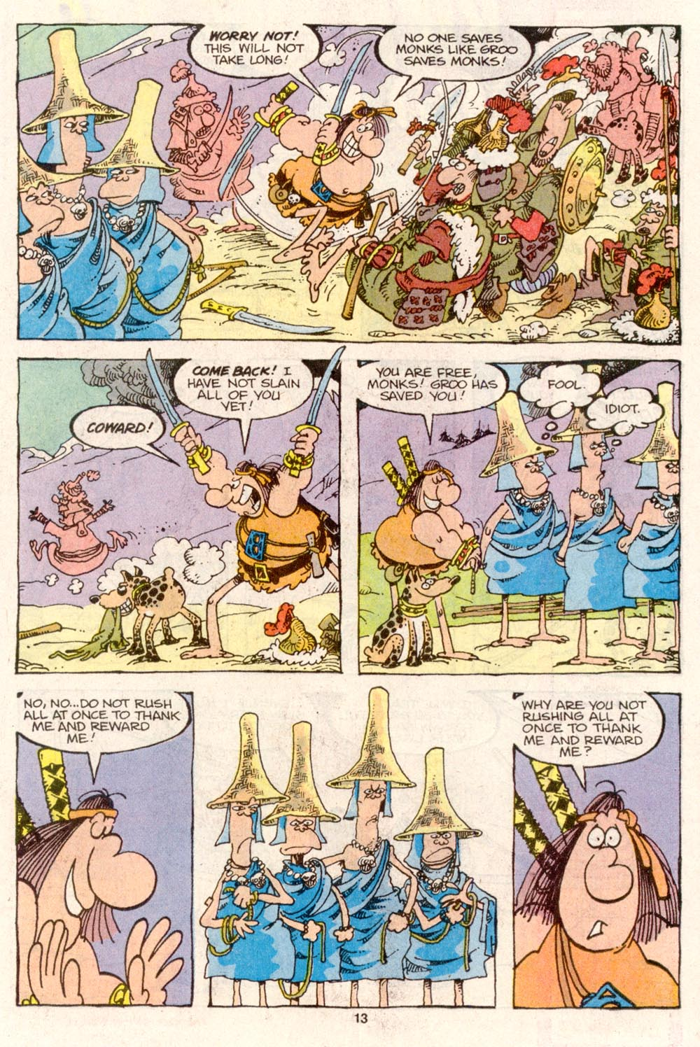 Read online Sergio Aragonés Groo the Wanderer comic -  Issue #79 - 9