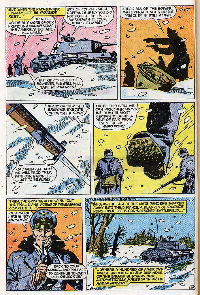 Read online Sgt. Fury comic -  Issue # _Special 4 - 36