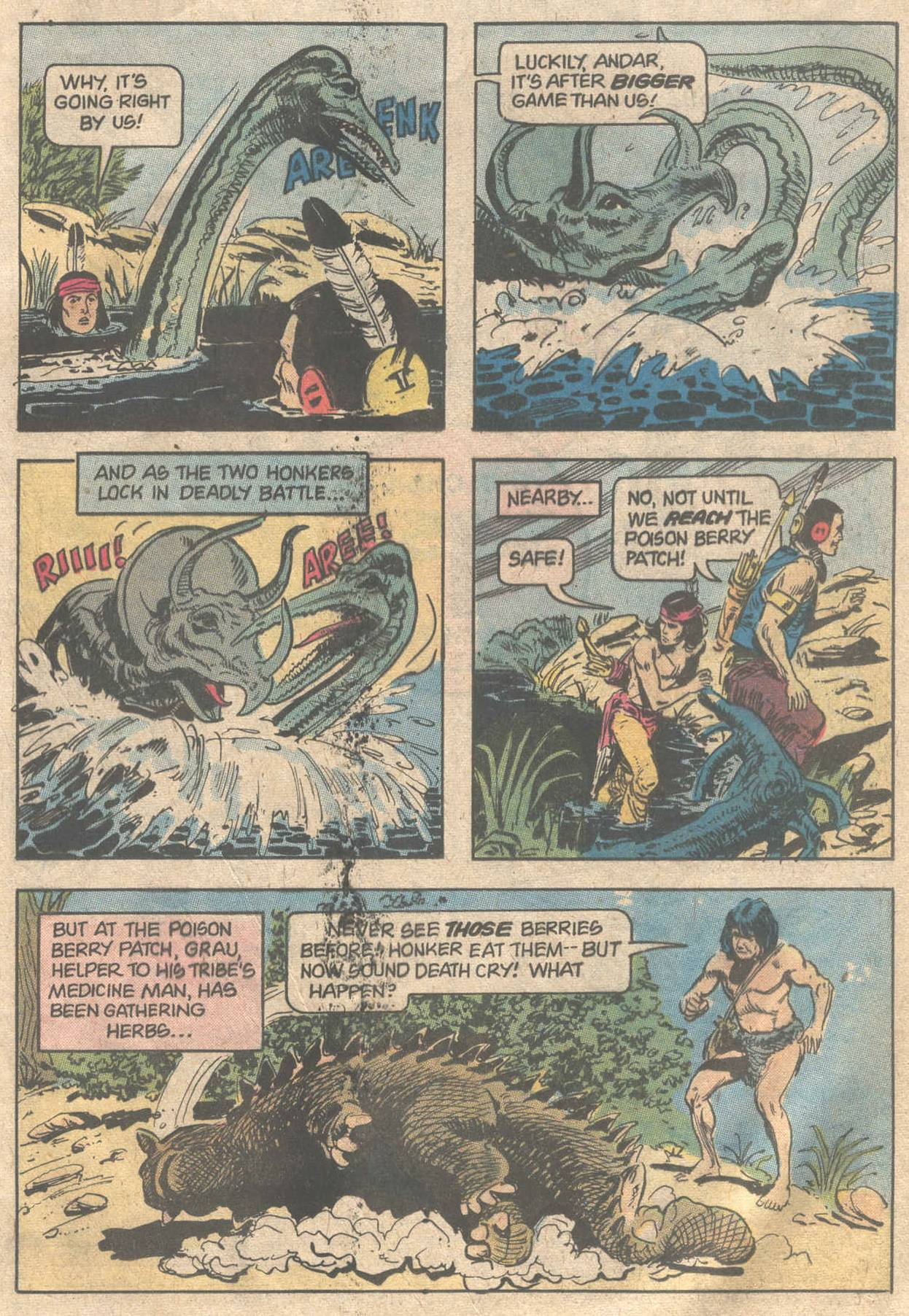 Read online Turok, Son of Stone comic -  Issue #117 - 21