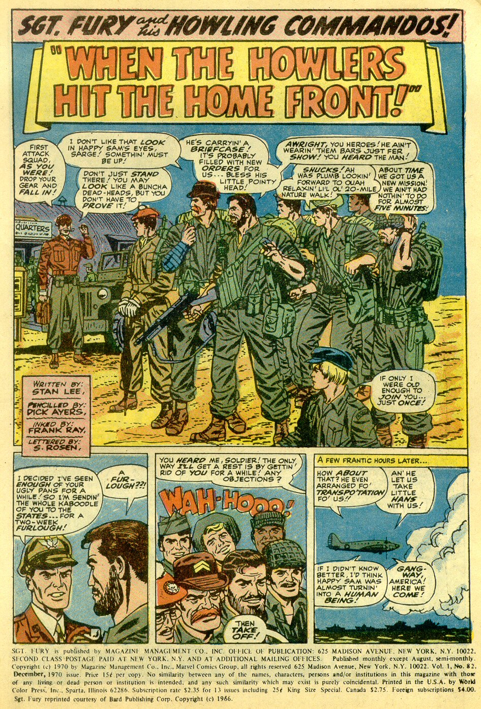 Read online Sgt. Fury comic -  Issue #82 - 3