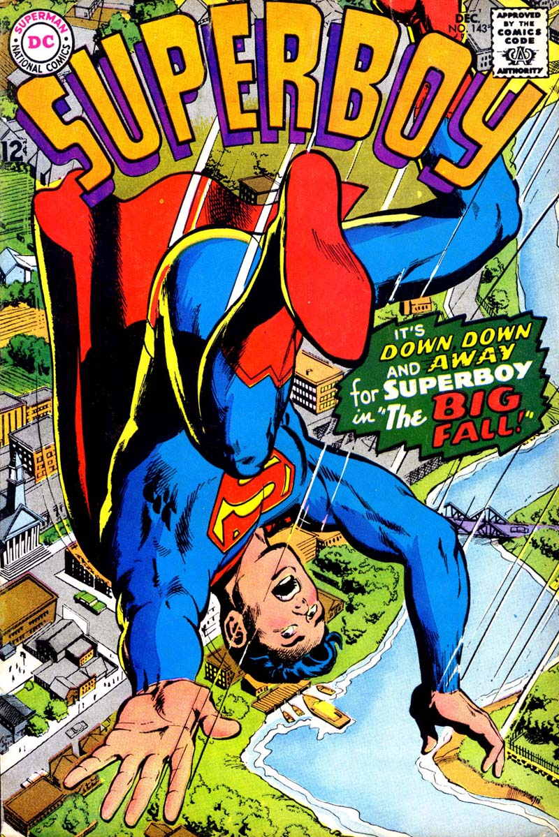 Superboy (1949) issue 143 - Page 1