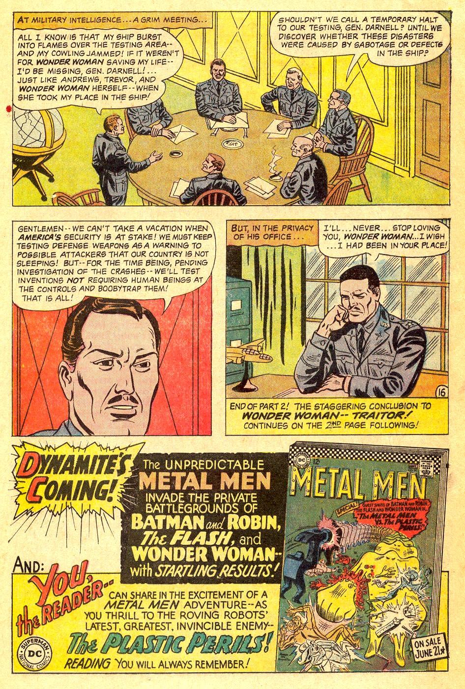 Read online Wonder Woman (1942) comic -  Issue #164 - 21