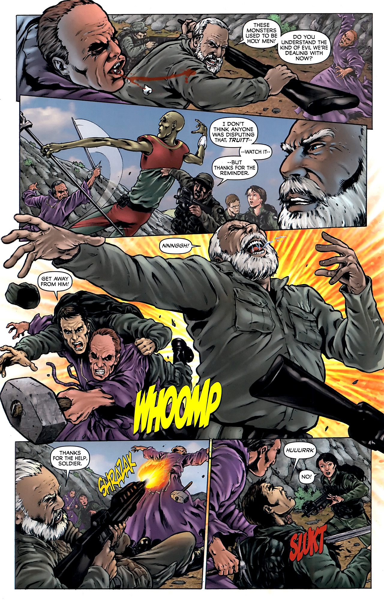 Read online Stargate Vala Mal Doran comic -  Issue #4 - 7