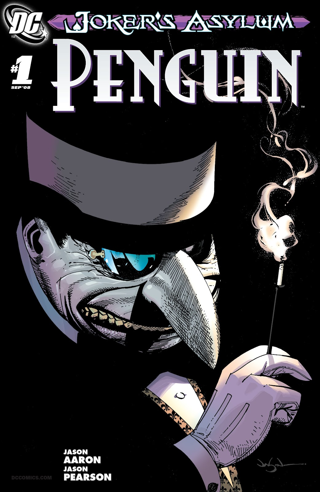 Joker's Asylum: Penguin issue Full - Page 1