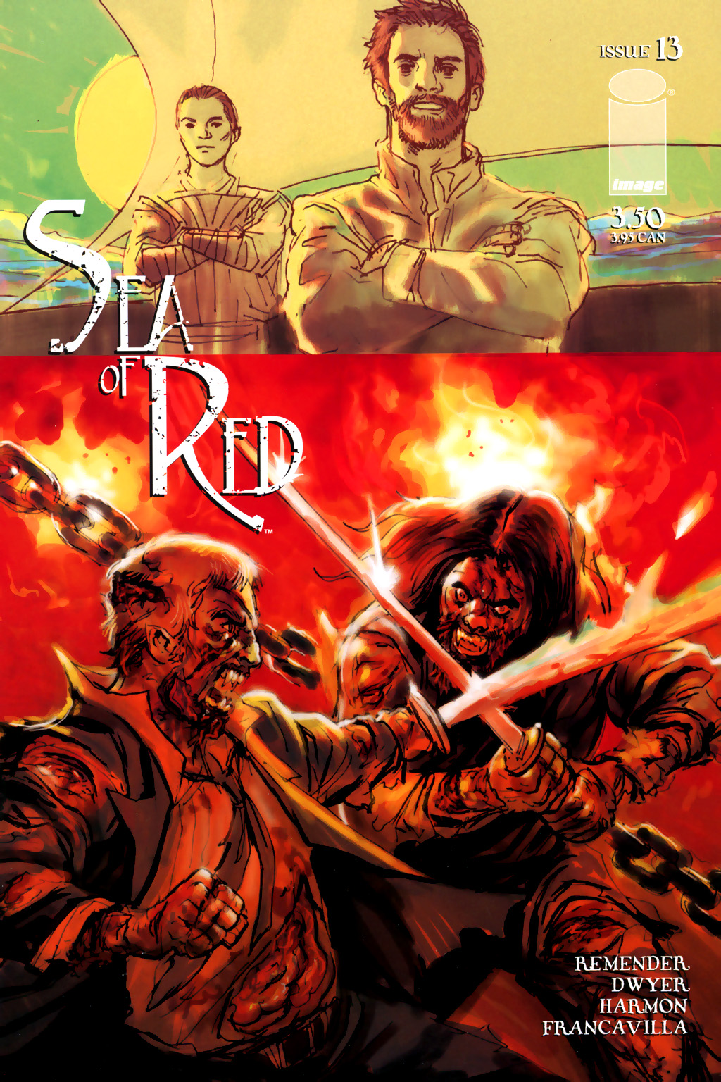 Read online Sea of Red comic -  Issue #13 - 1