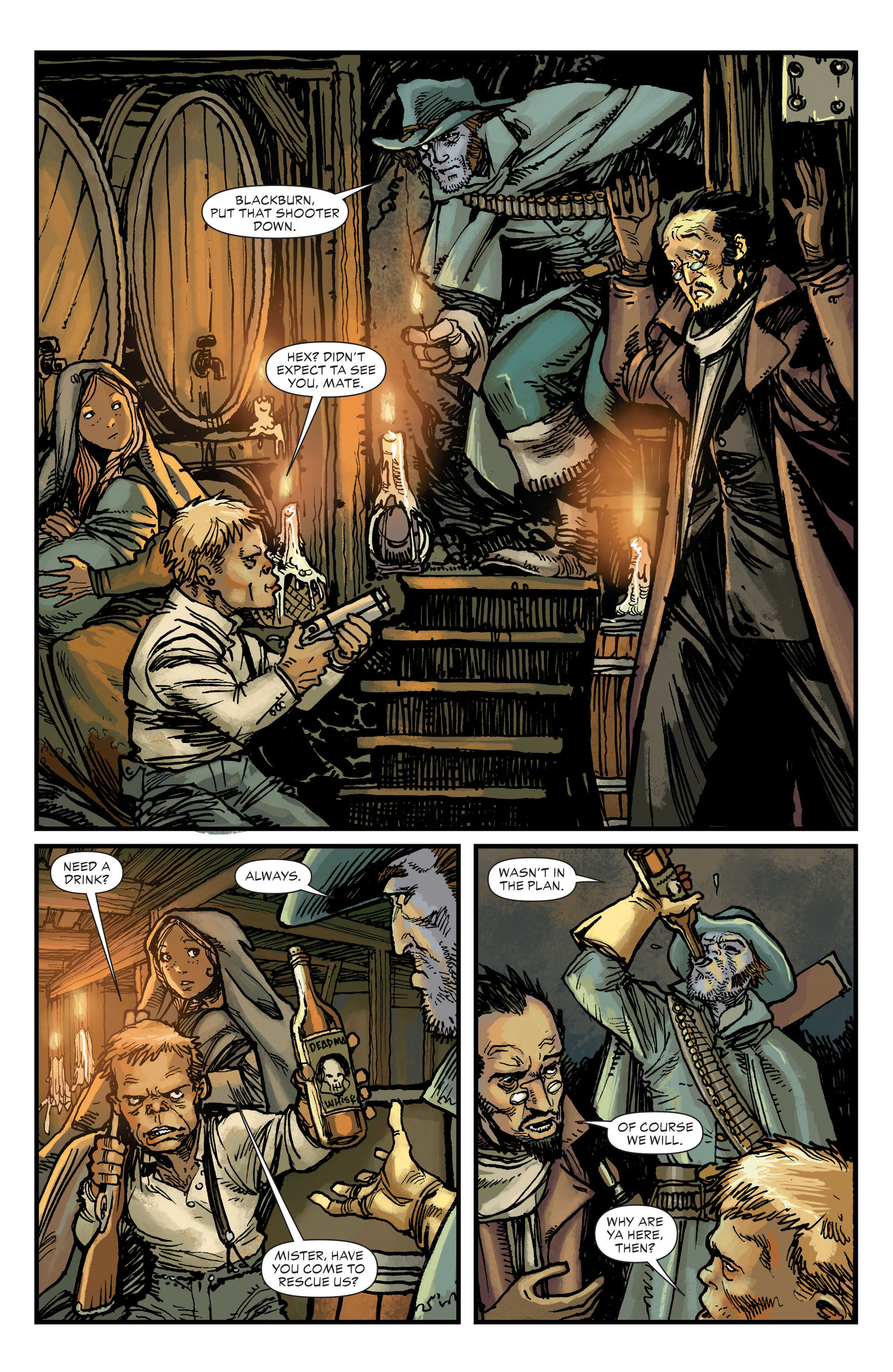 Read online All-Star Western (2011) comic -  Issue #18 - 6