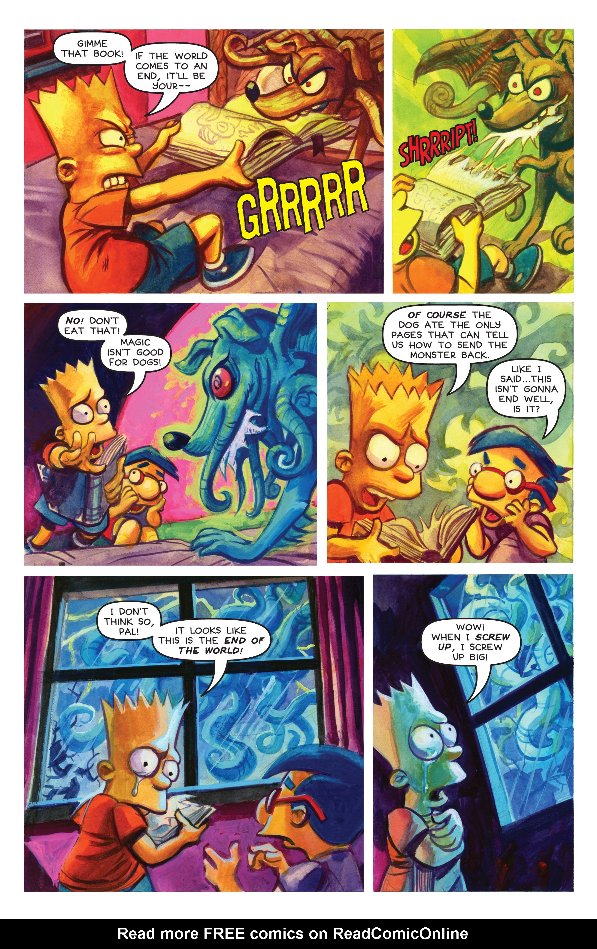 Read online Treehouse of Horror comic -  Issue #19 - 40