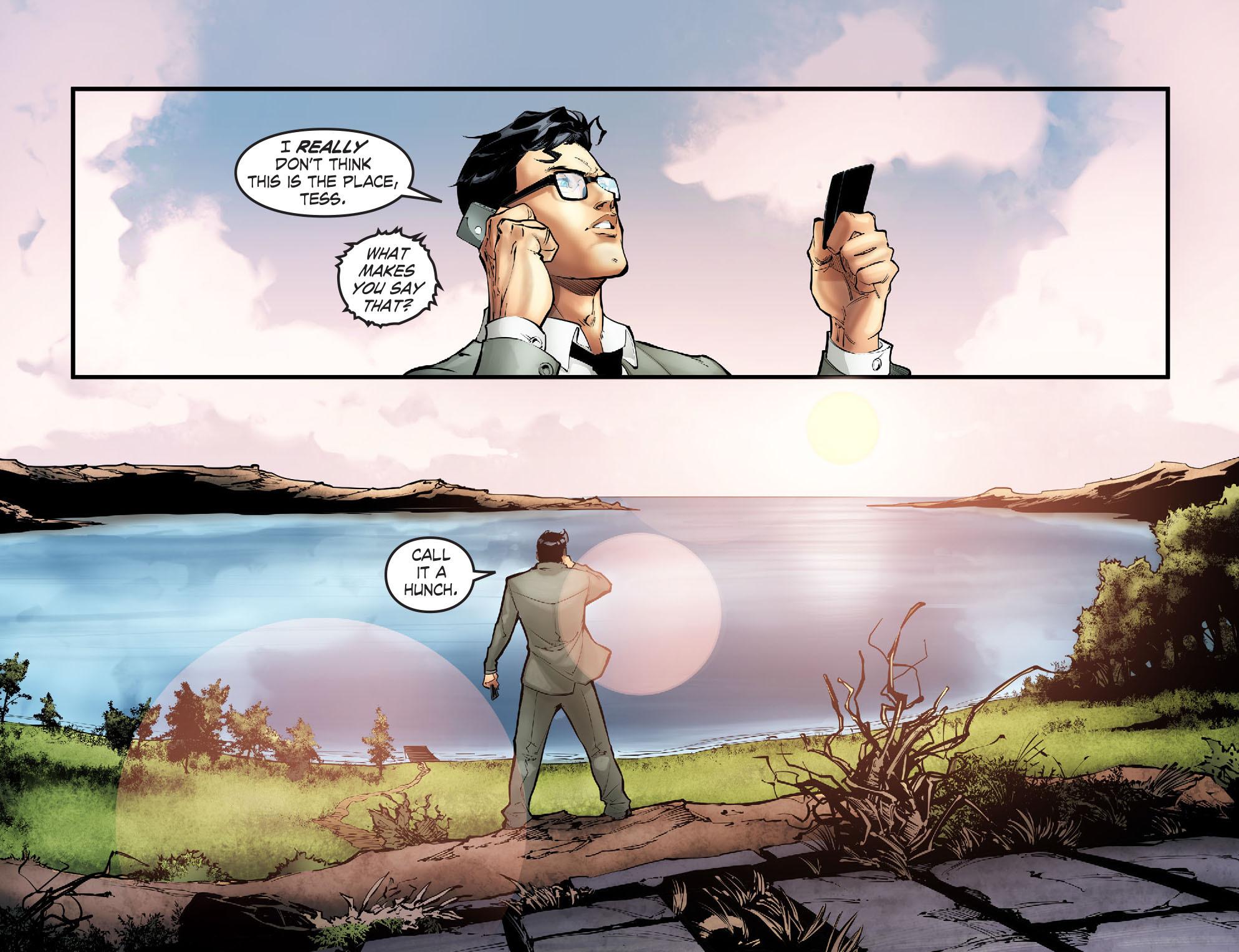 Read online Smallville: Season 11 comic -  Issue #57 - 19