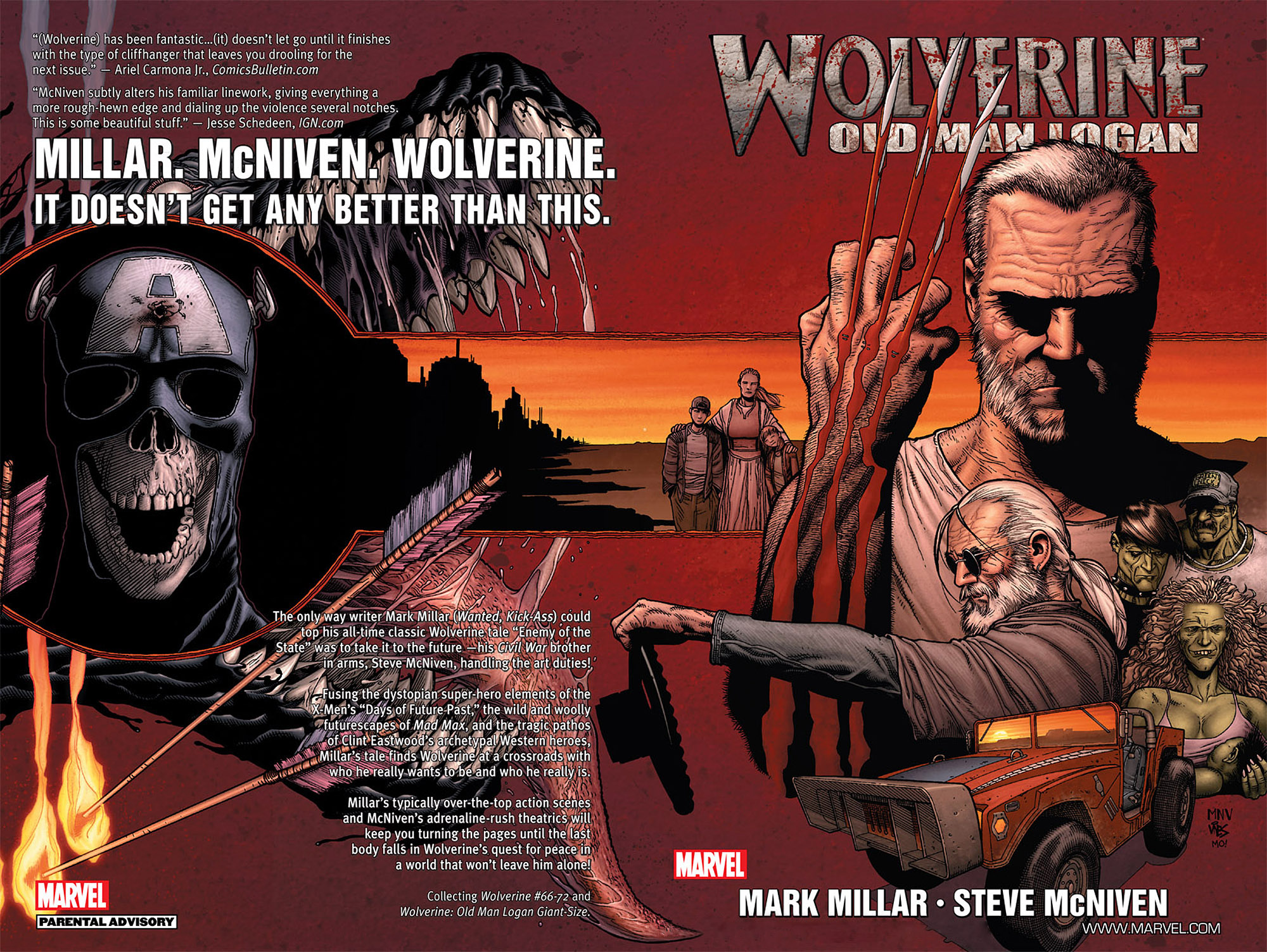 Read online Wolverine: Old Man Logan comic -  Issue # Full - 1