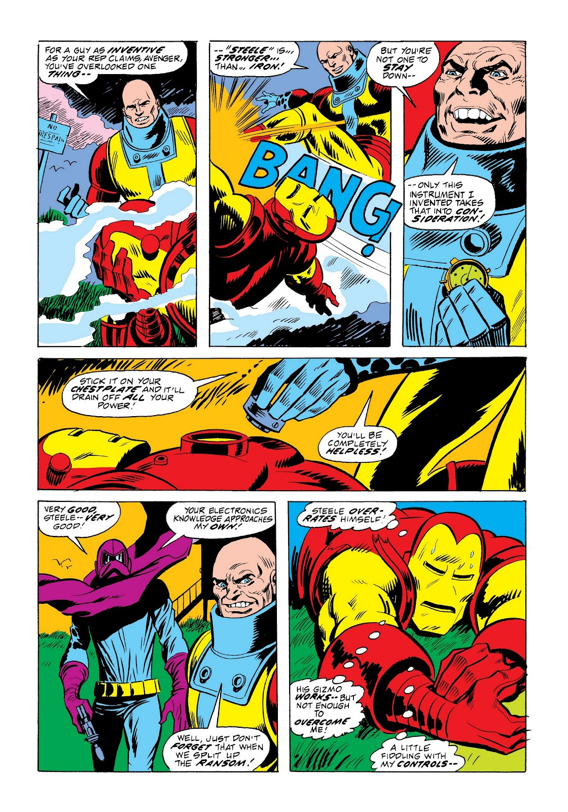 Read online Marvel Masterworks: The Invincible Iron Man comic -  Issue # TPB 9 (Part 2) - 47