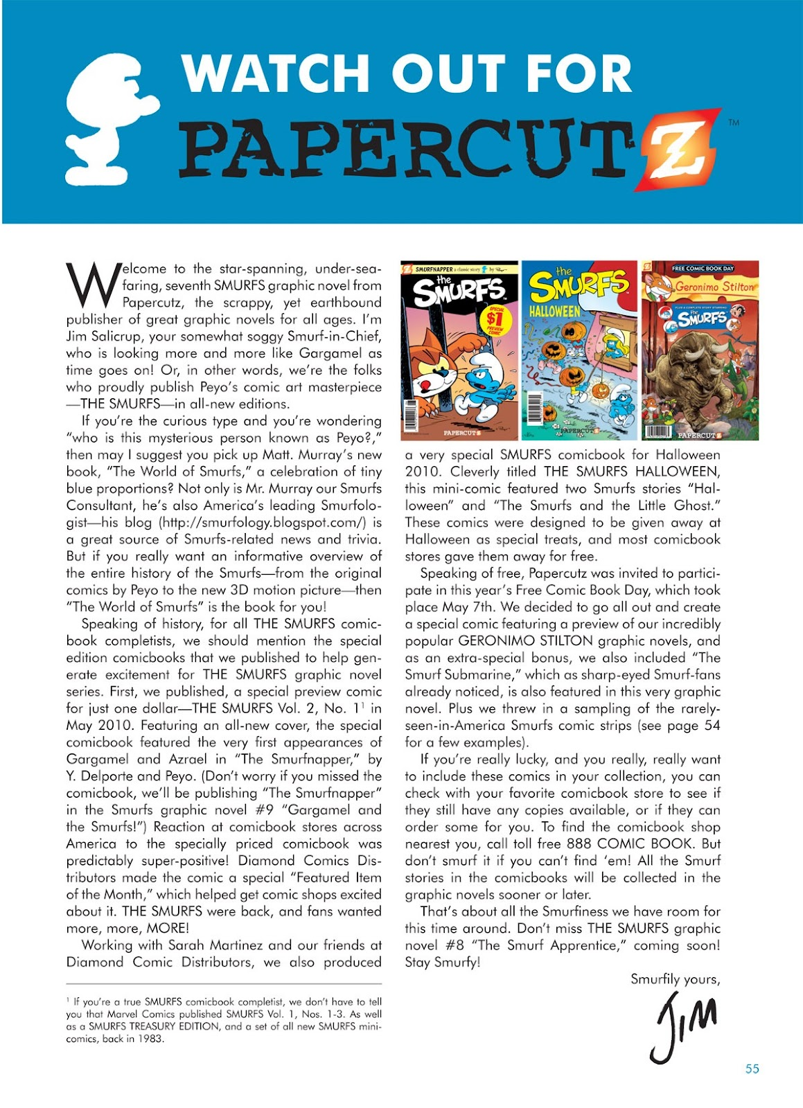 Read online The Smurfs comic -  Issue #7 - 55