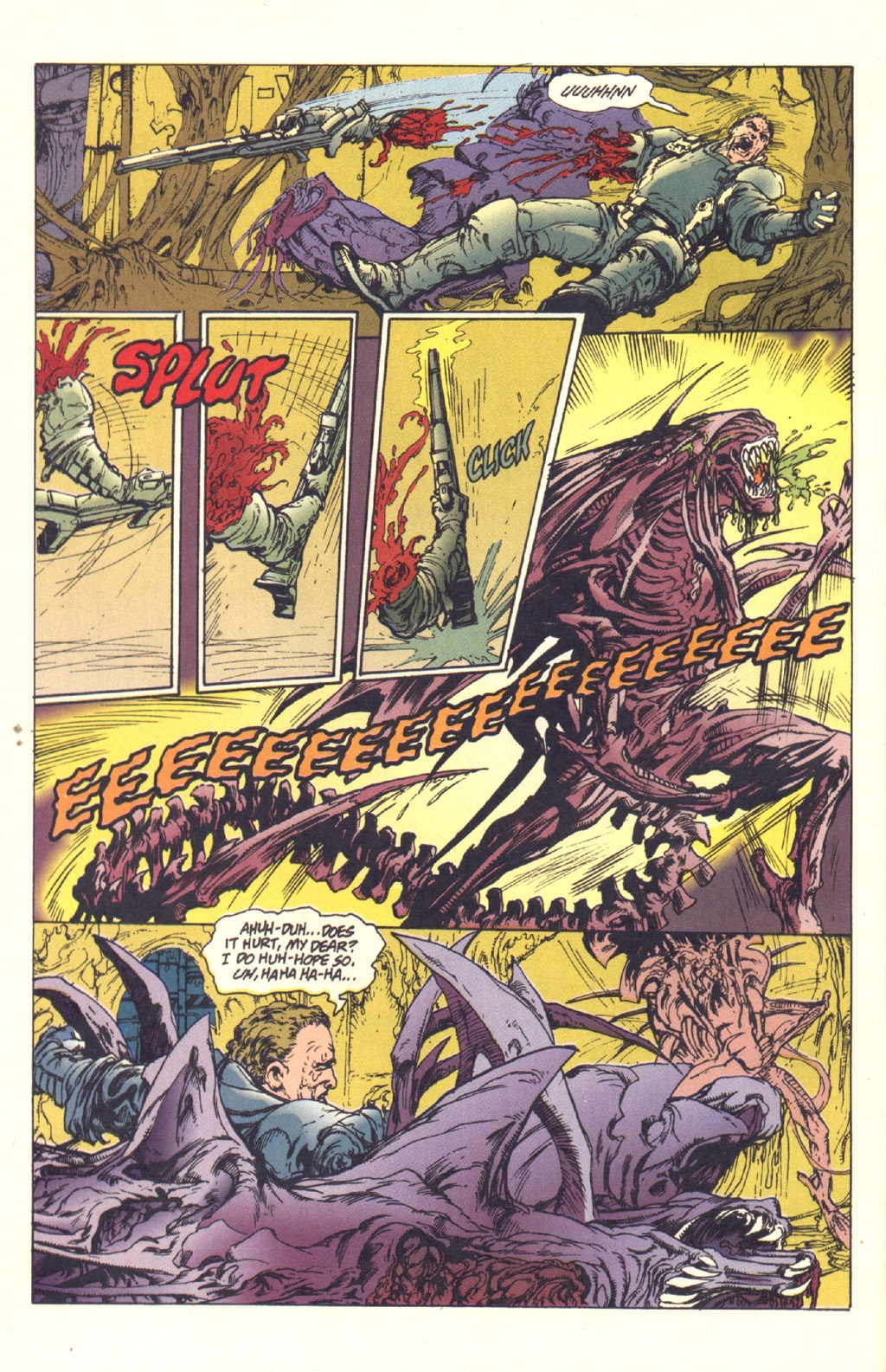Read online Aliens: Rogue comic -  Issue #1 - 103
