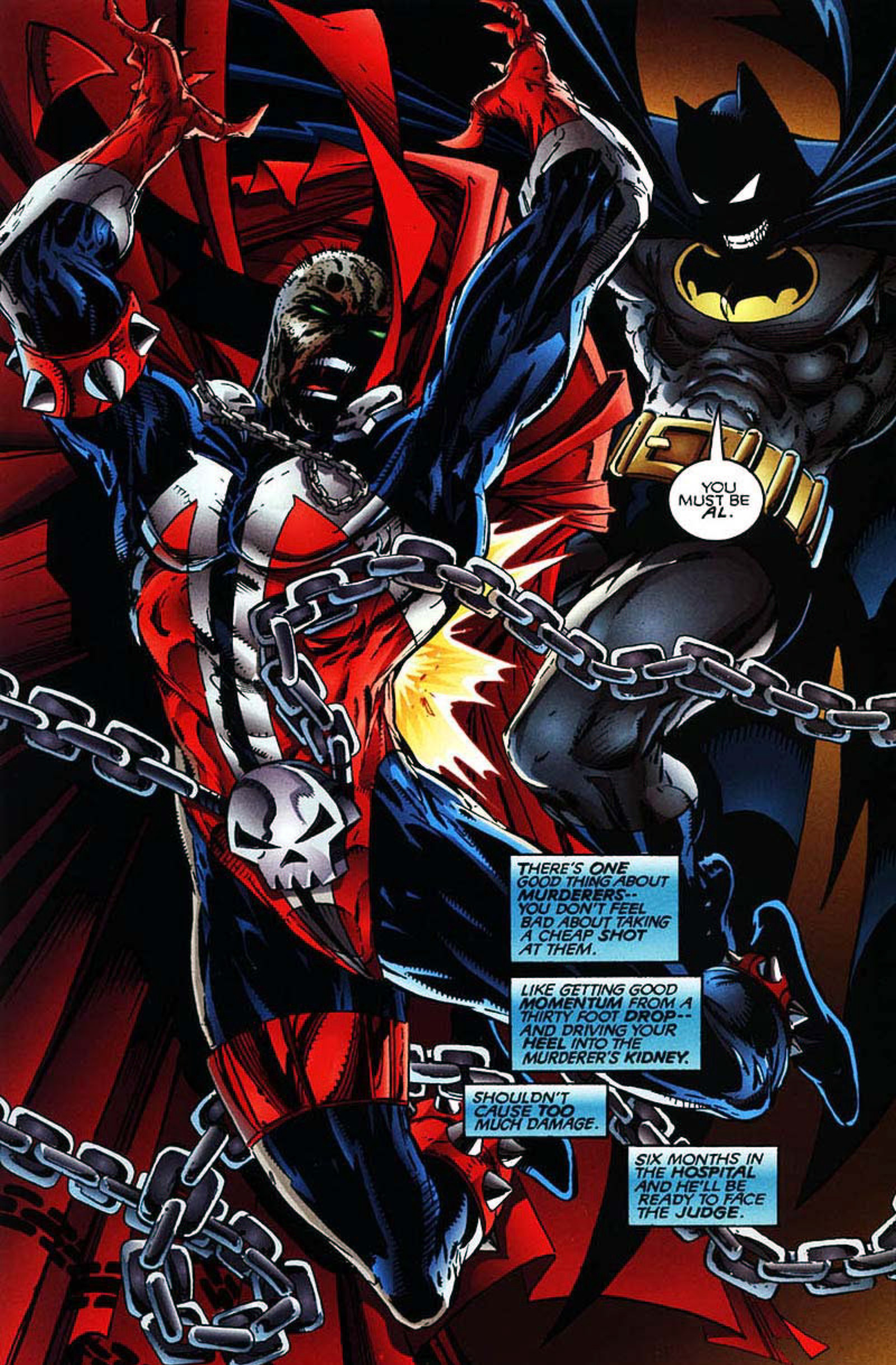 Read online Spawn-Batman comic -  Issue # Full - 18