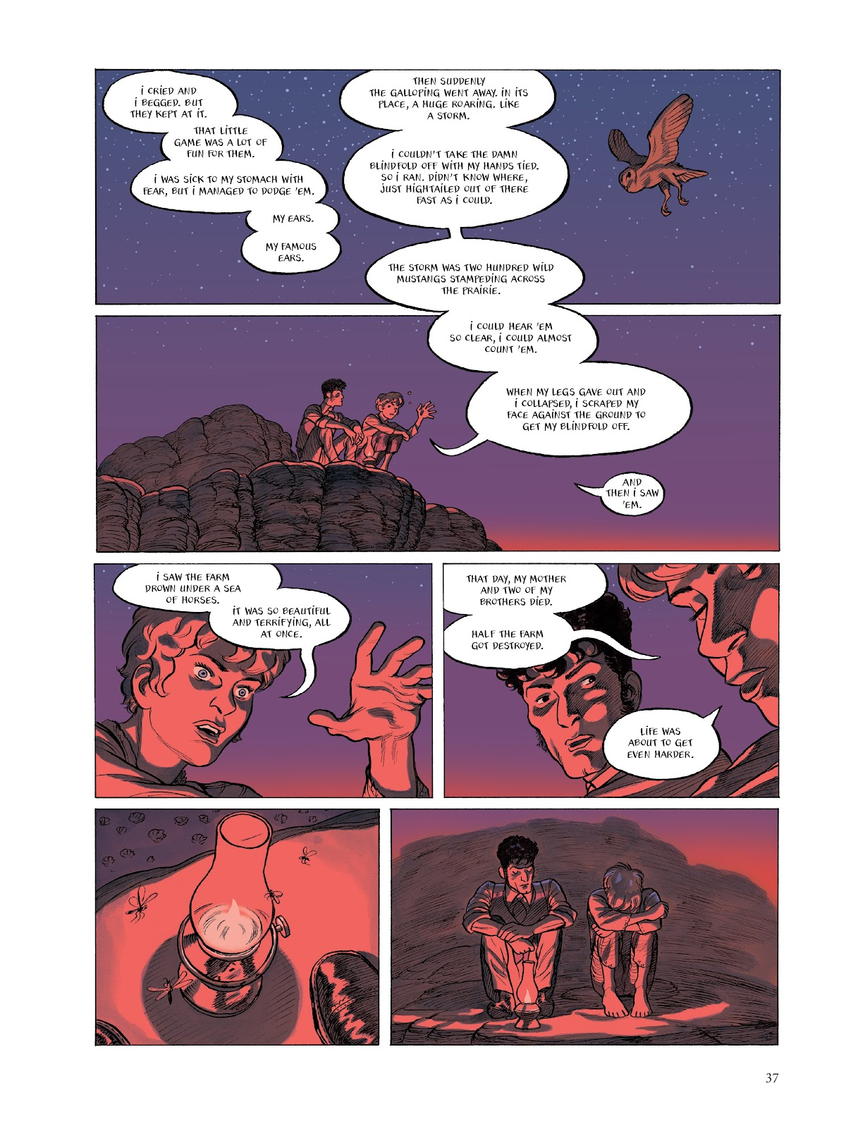 Read online The Smell of Starving Boys comic -  Issue # TPB - 38