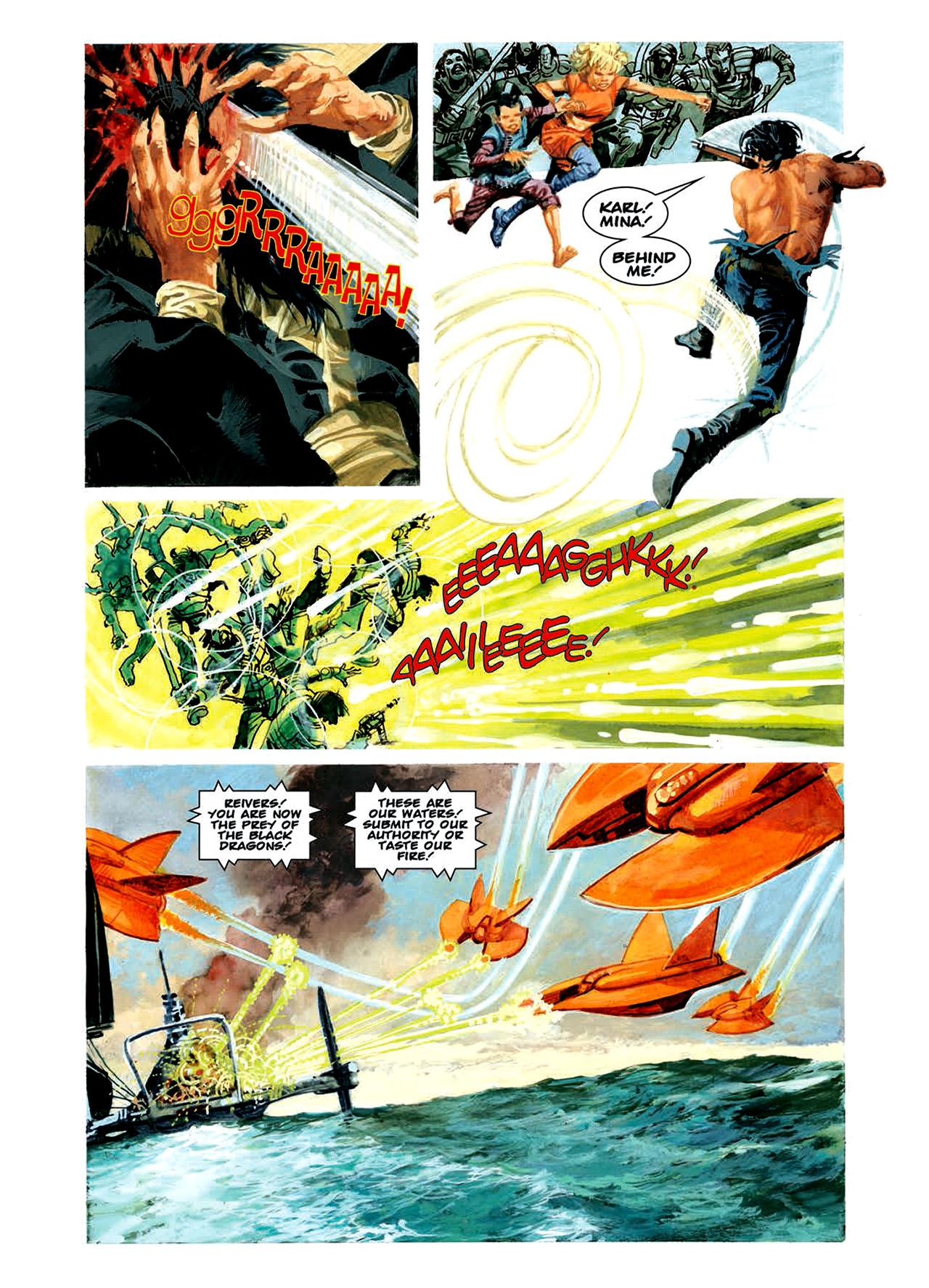 Read online Nikolai Dante comic -  Issue # TPB 6 - 103
