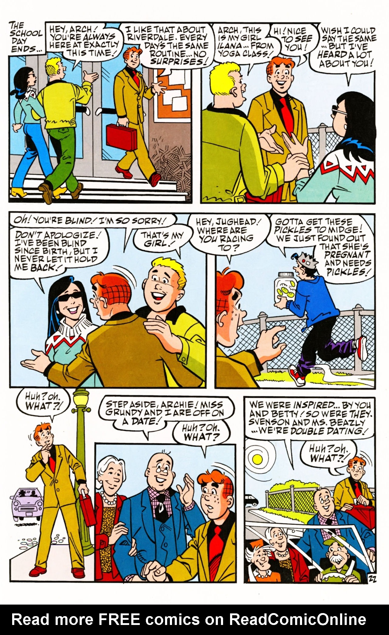 Read online Archie (1960) comic -  Issue #605 - 31