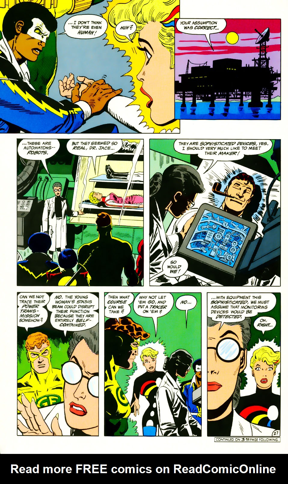 Read online Adventures of the Outsiders comic -  Issue #39 - 28
