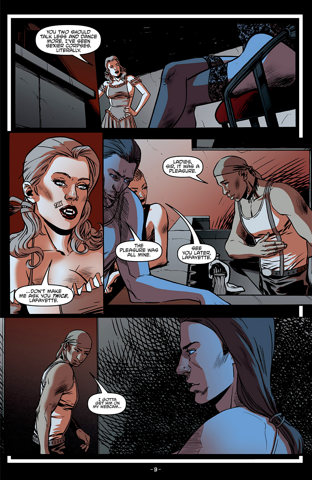 Read online True Blood: French Quarter comic -  Issue #4 - 14