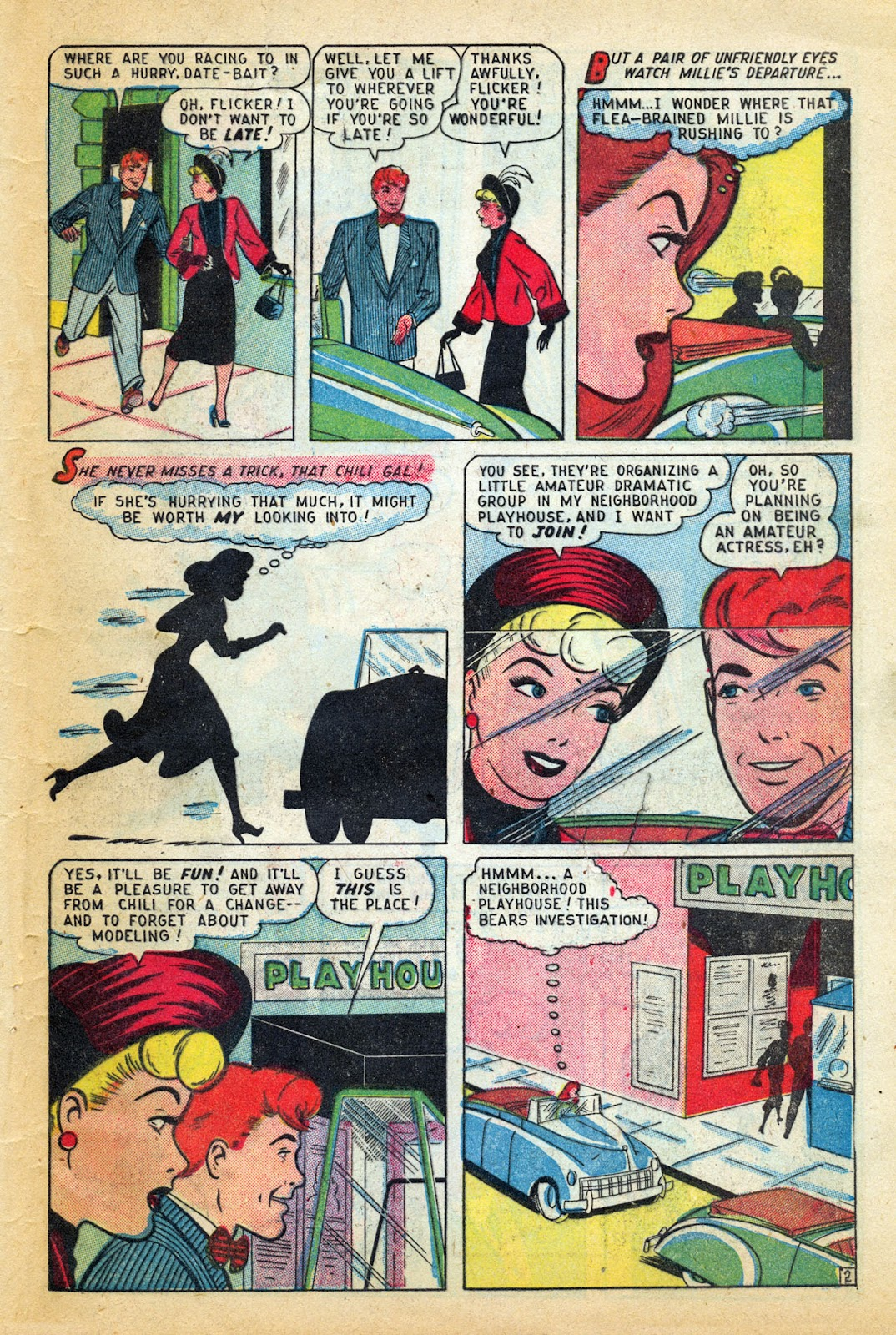 Read online Millie the Model comic -  Issue #14 - 43