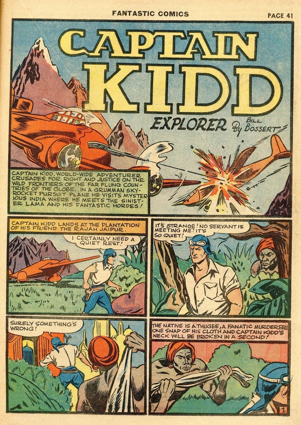 Read online Fantastic Comics comic -  Issue #10 - 42