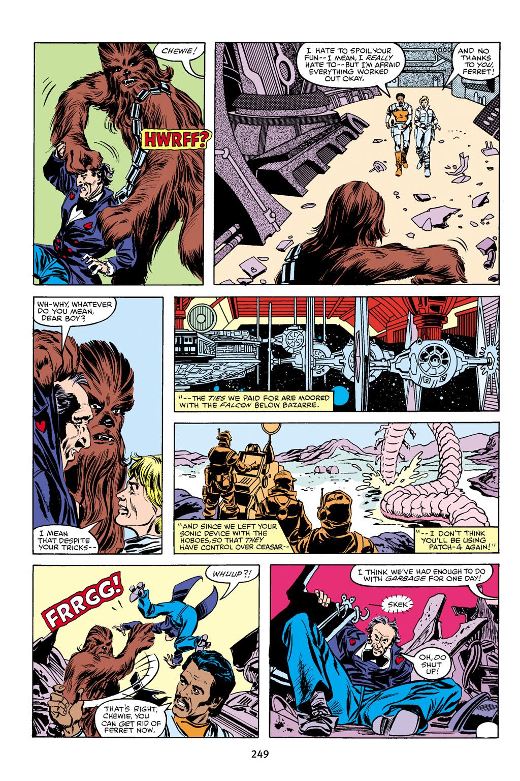 Read online Star Wars Omnibus comic -  Issue # Vol. 16 - 246