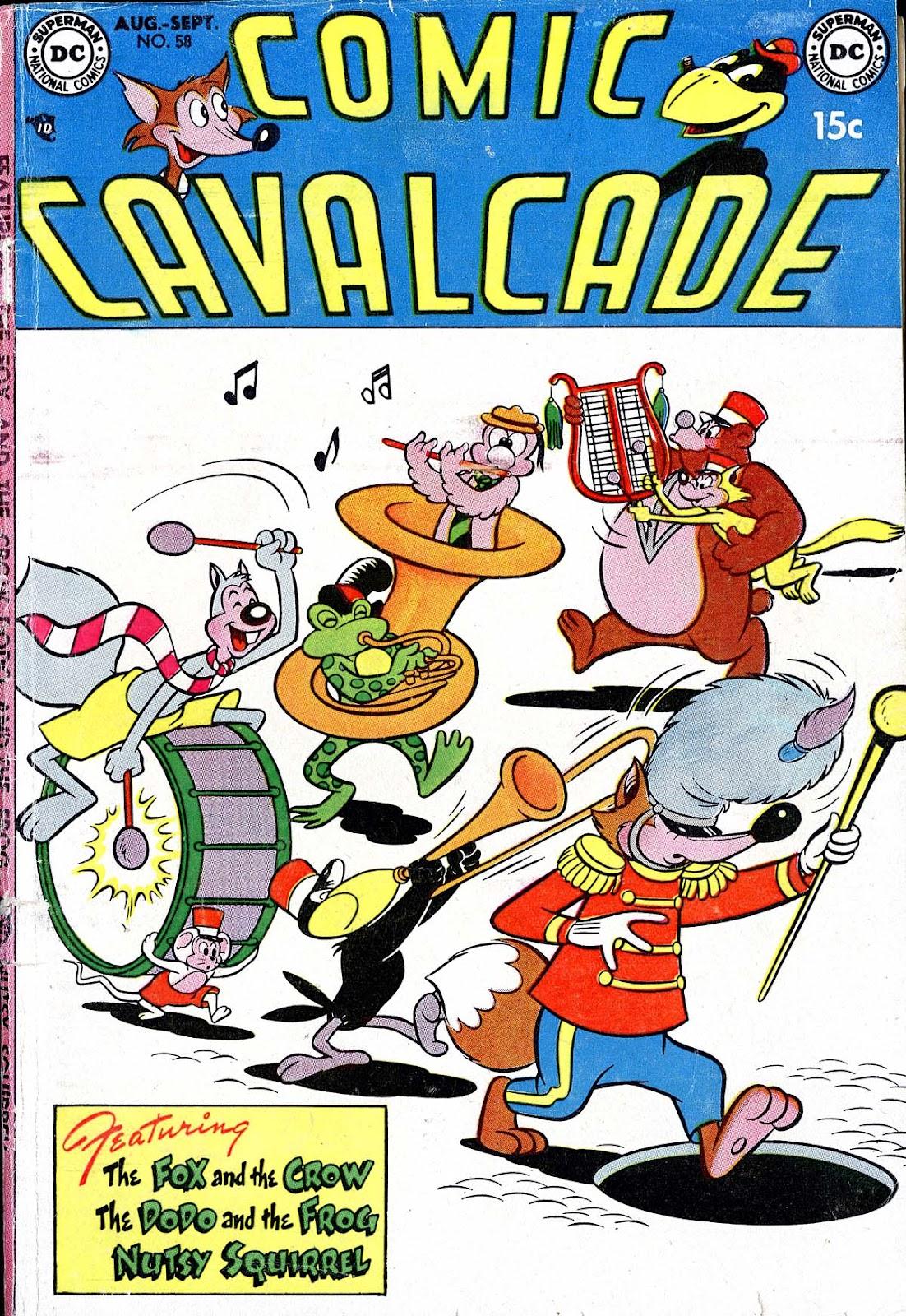 Comic Cavalcade issue 58 - Page 1