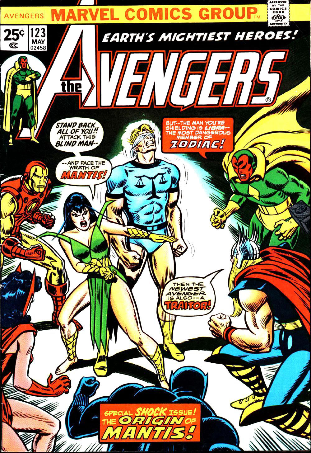 The Avengers (1963) 123 Page 1