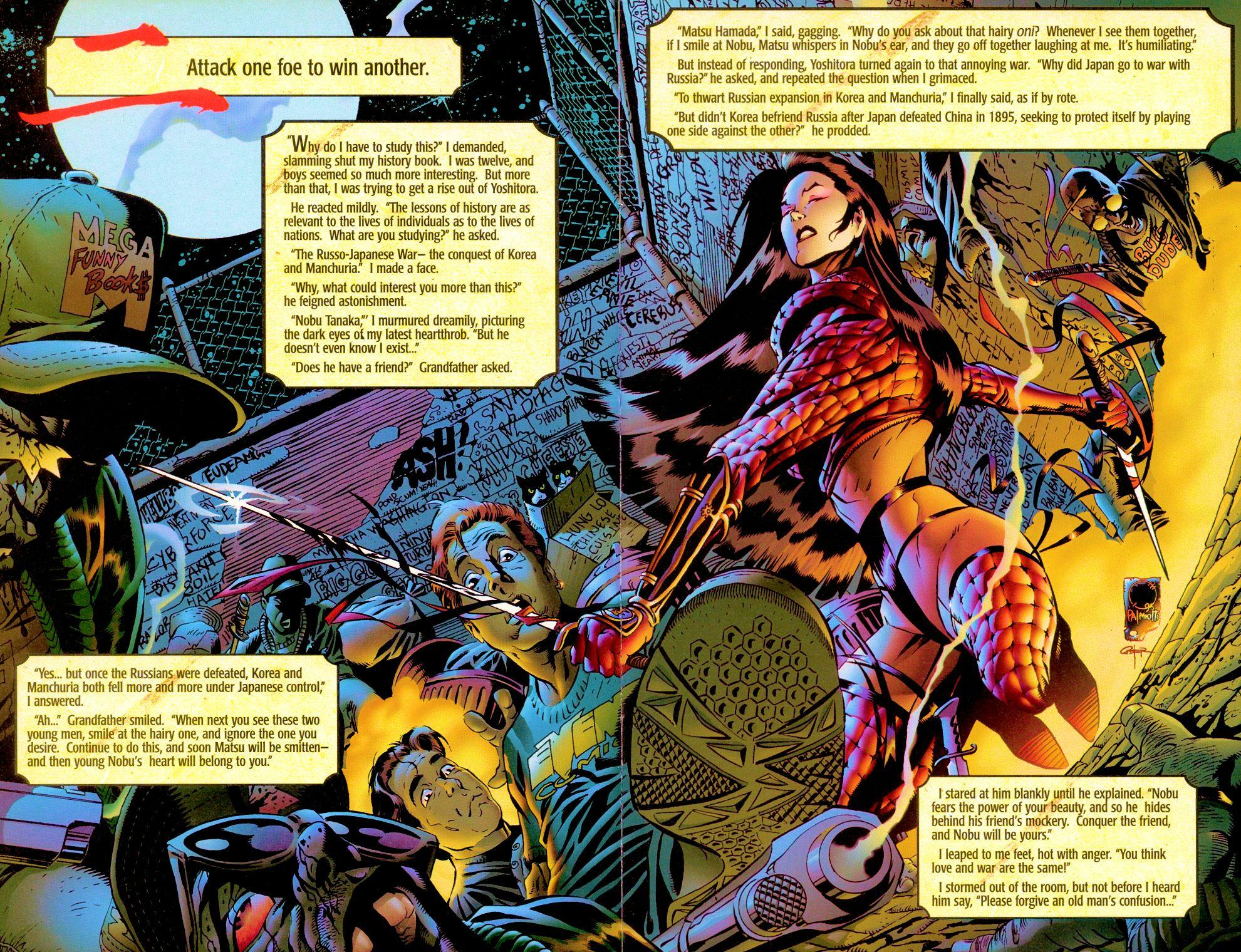 Read online Shi: Senryaku comic -  Issue #1 - 7