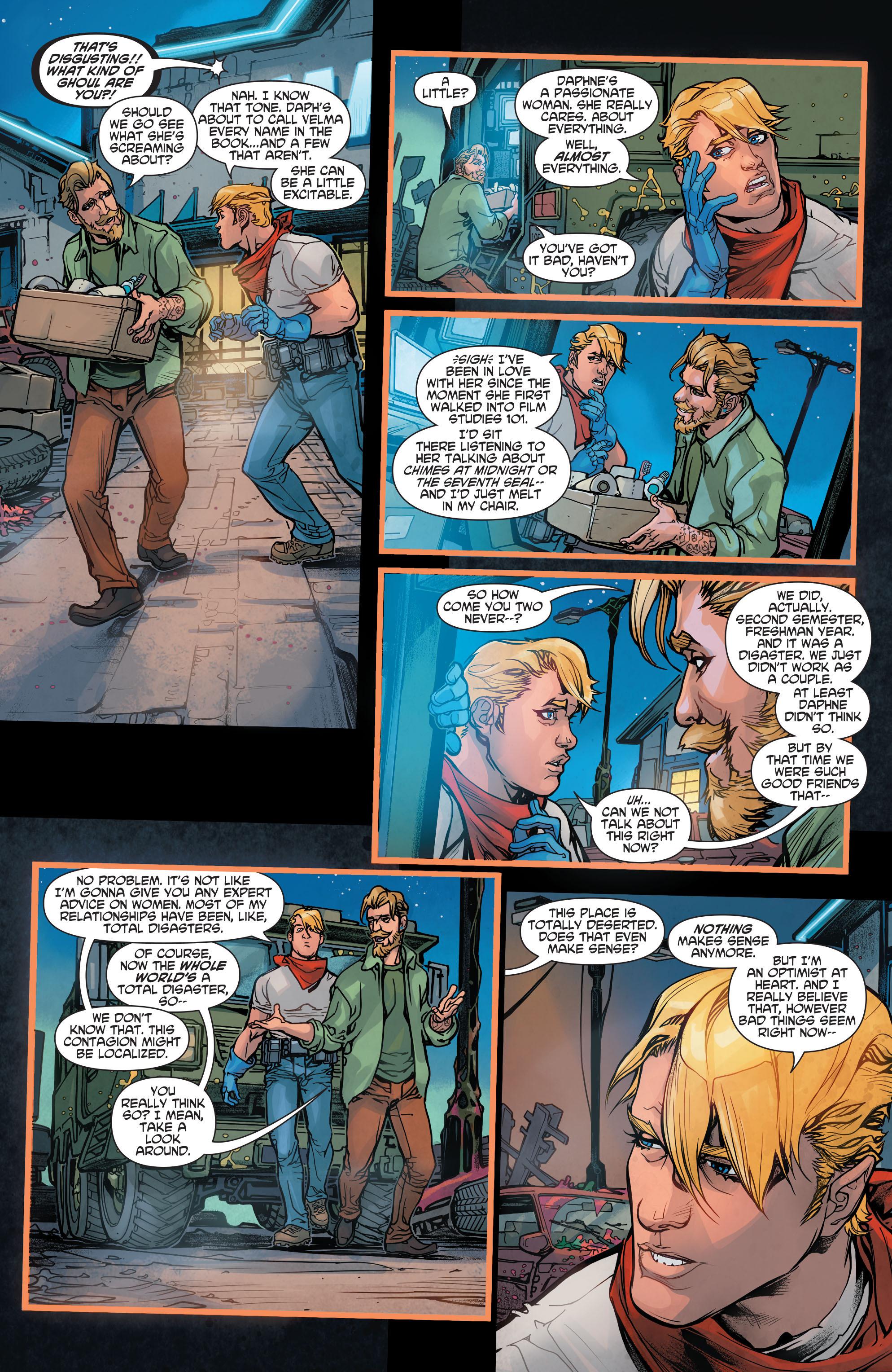 Read online Scooby Apocalypse comic -  Issue #4 - 24